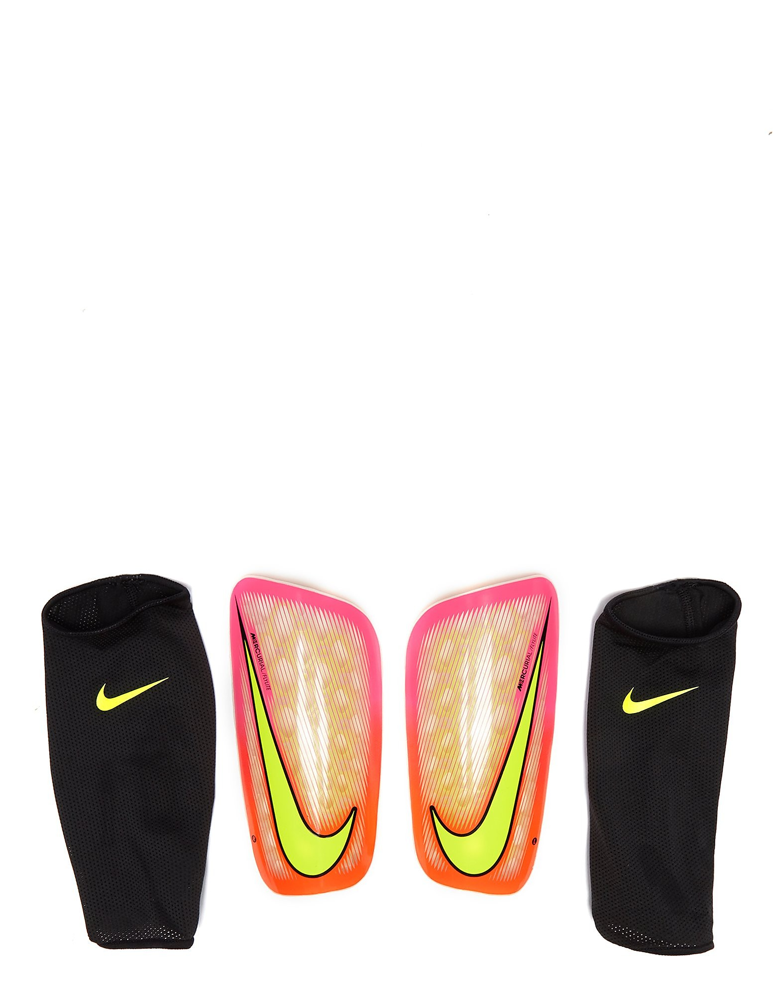 hot new products thoughts on super specials Nike Mercurial Flylite Shin Pads - Pink Blast/Yellow - Mens ...
