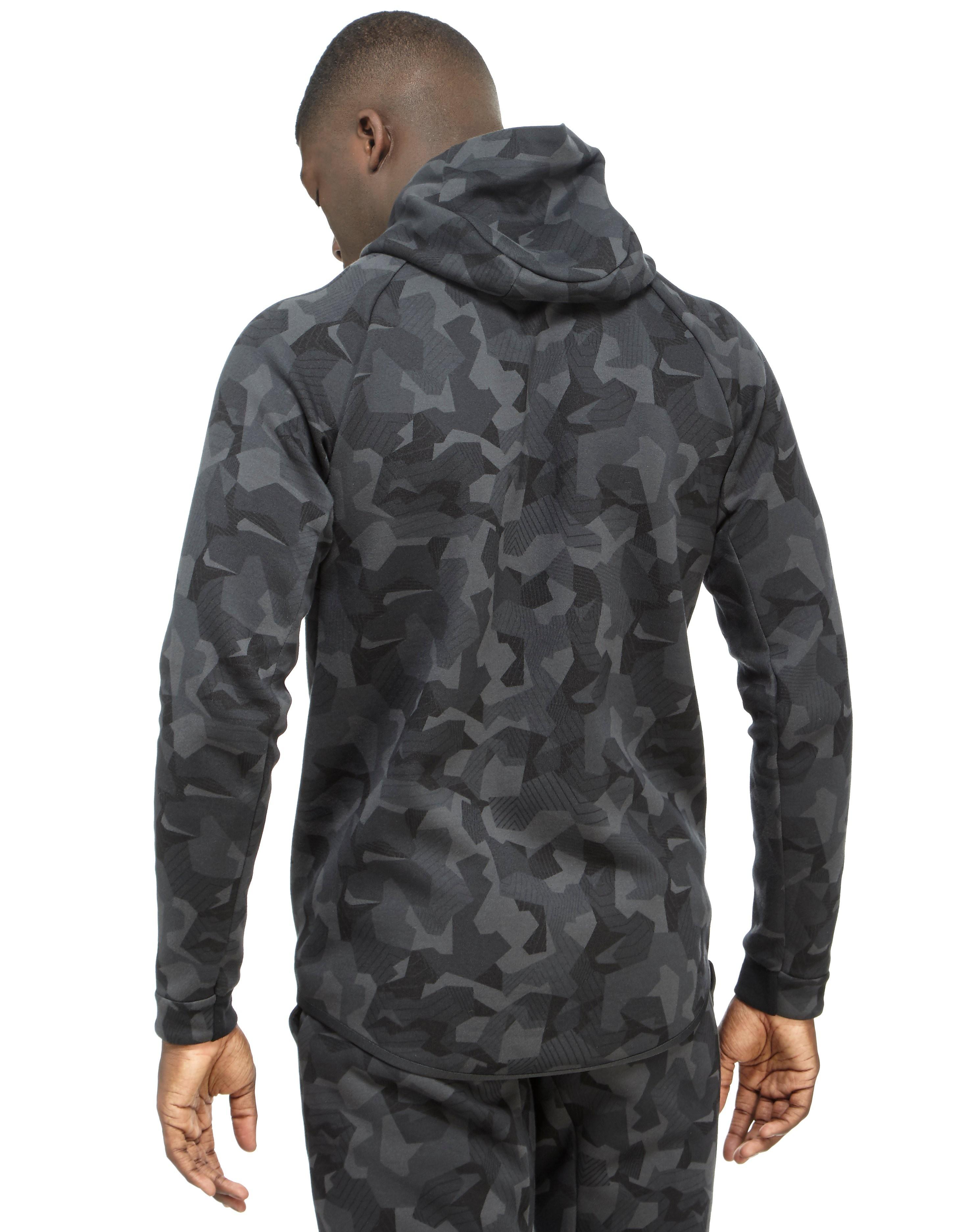 Nike Tech Camo Fleece Windrunner-hættetrøje