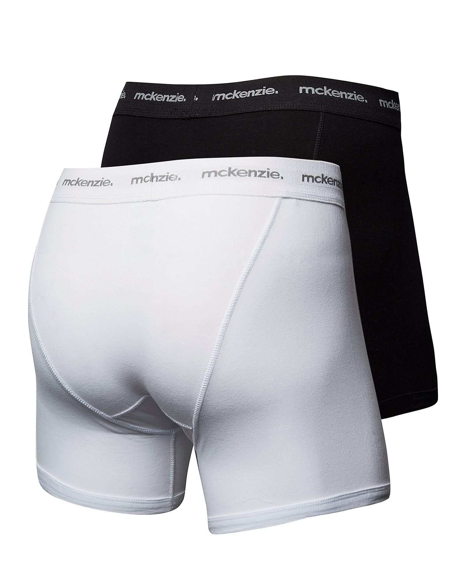 McKenzie 2 Packungen Baumwoll-Boxershorts