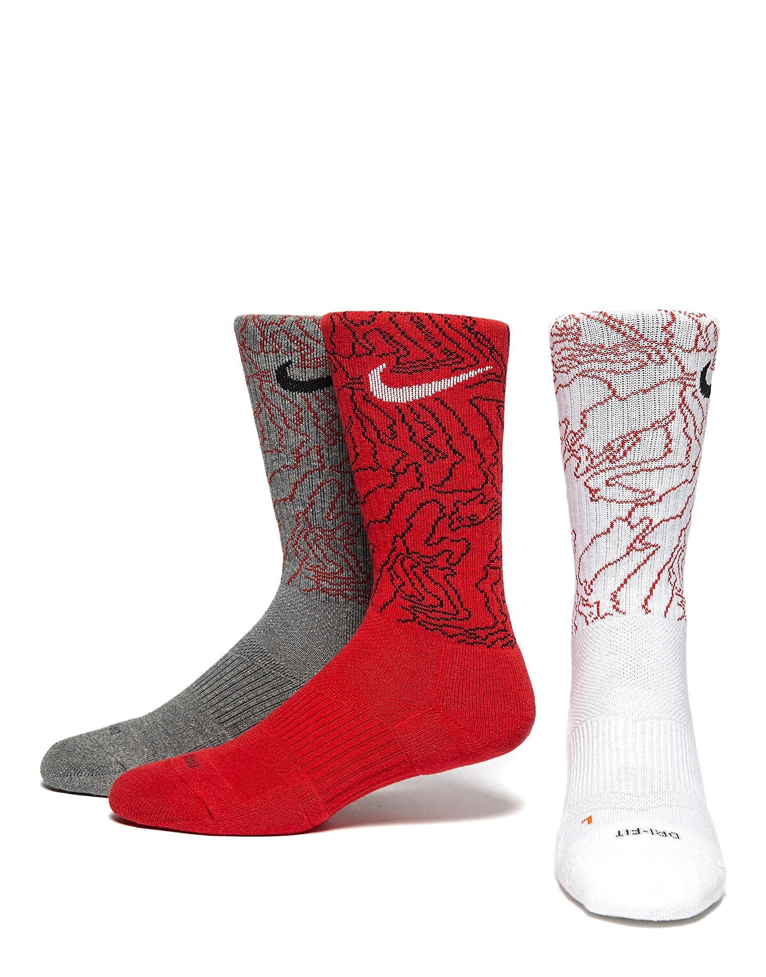 Nike Lot de 3paires de chaussettes Dri-FIT