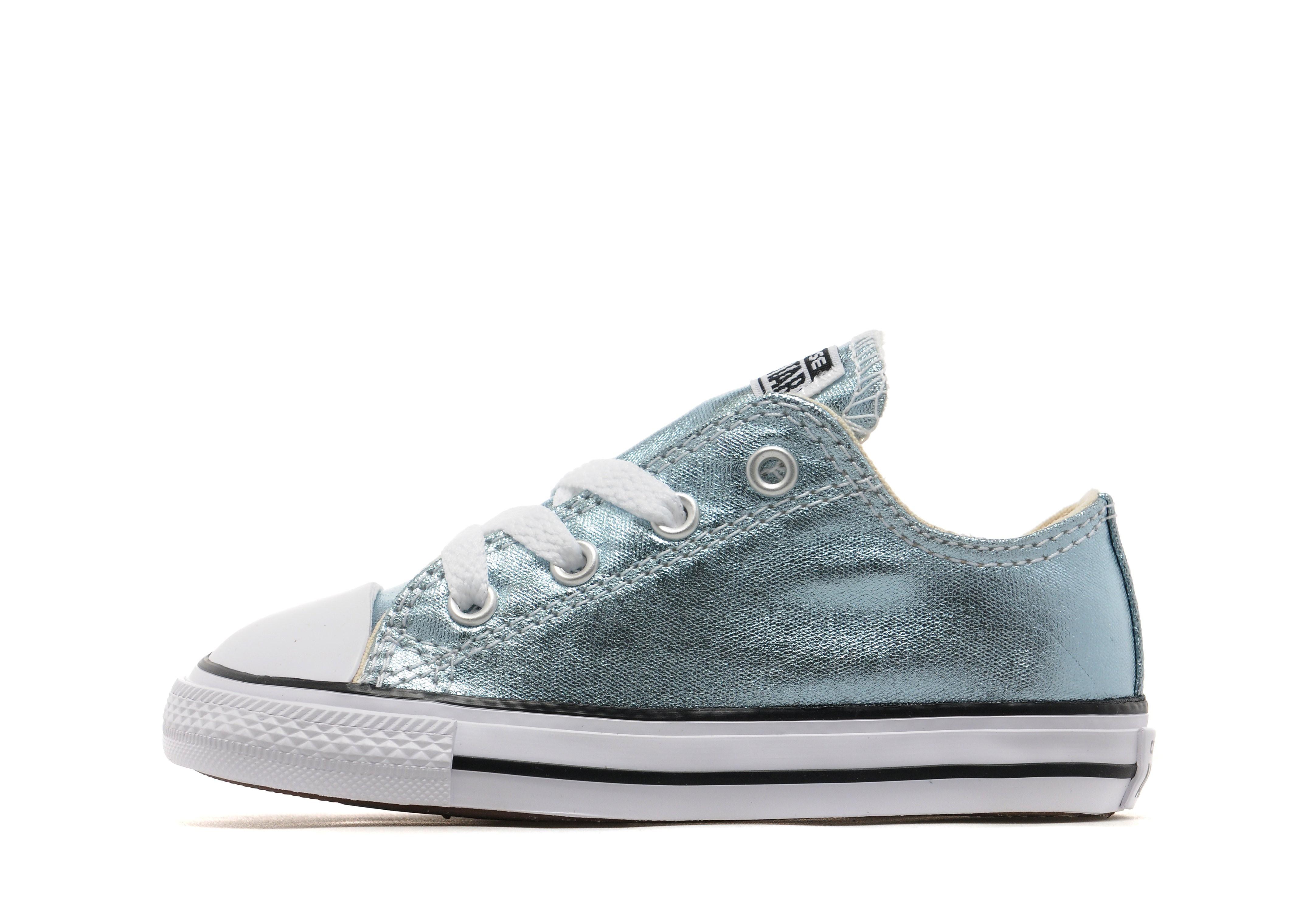 71cfdec9505b Converse All Star Metallic Ox Infant - Glacier - Kids