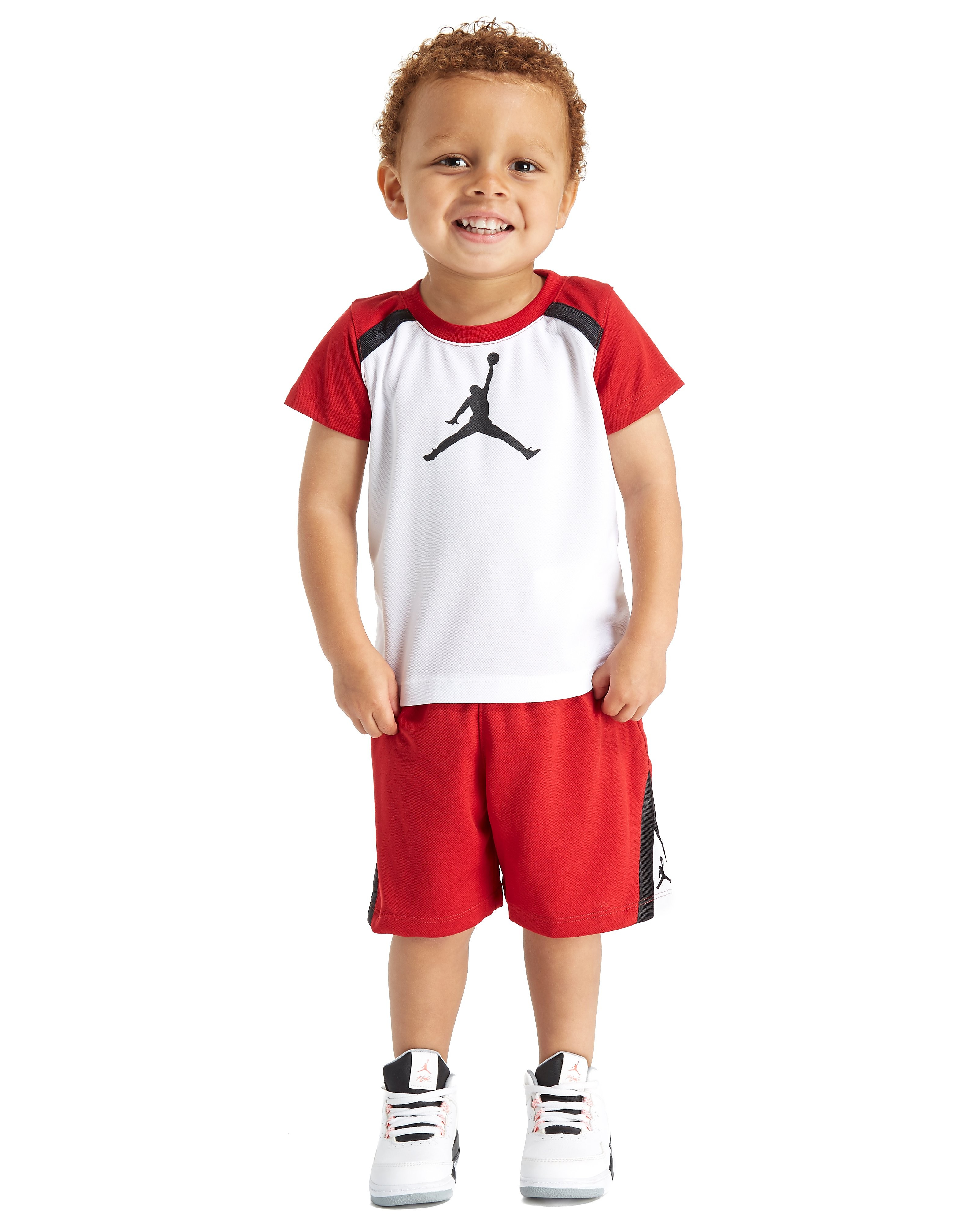 Jordan Court T-Shirt and Shorts Set Infant