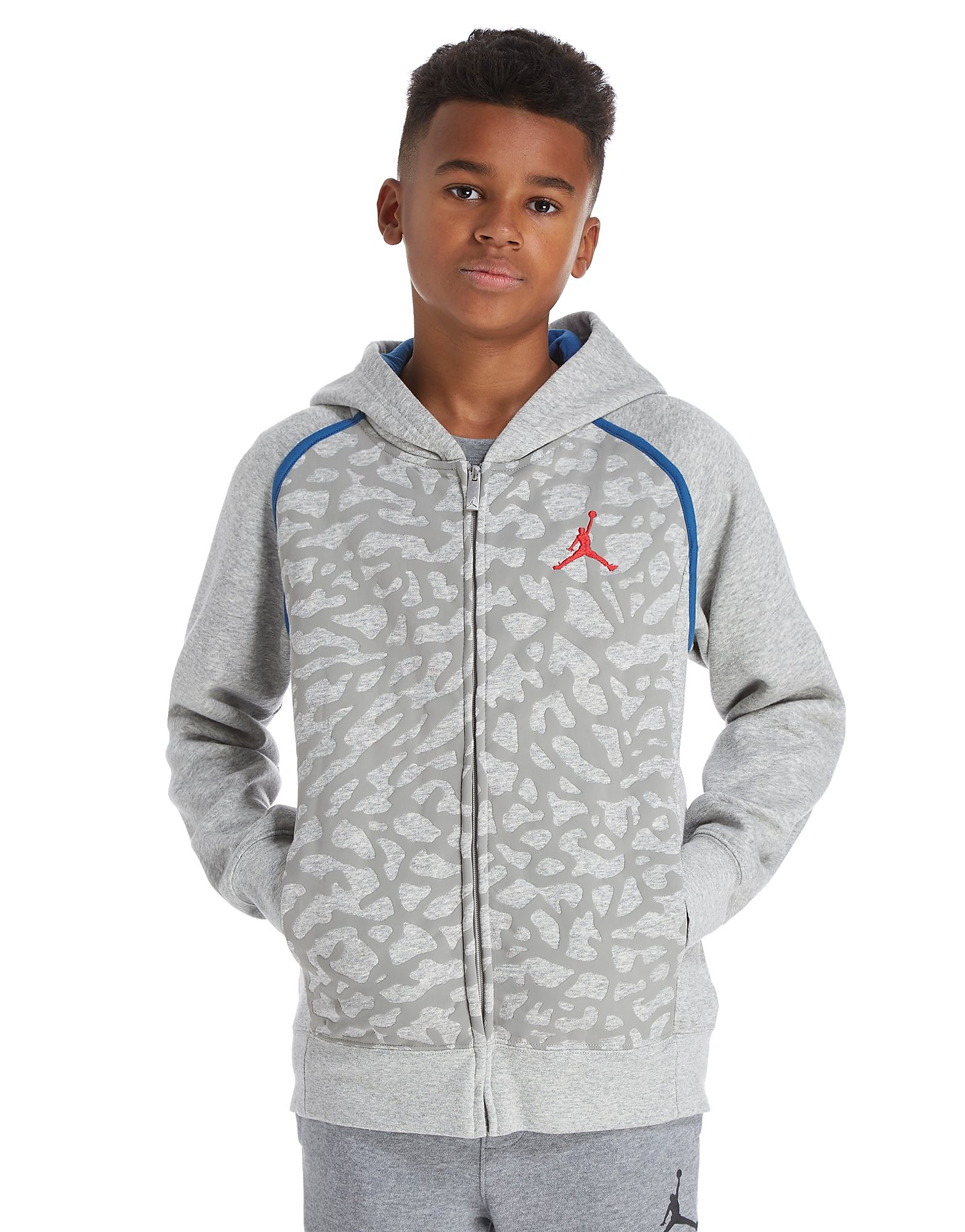 Jordan Air 3 Full Zip Sweat Junior