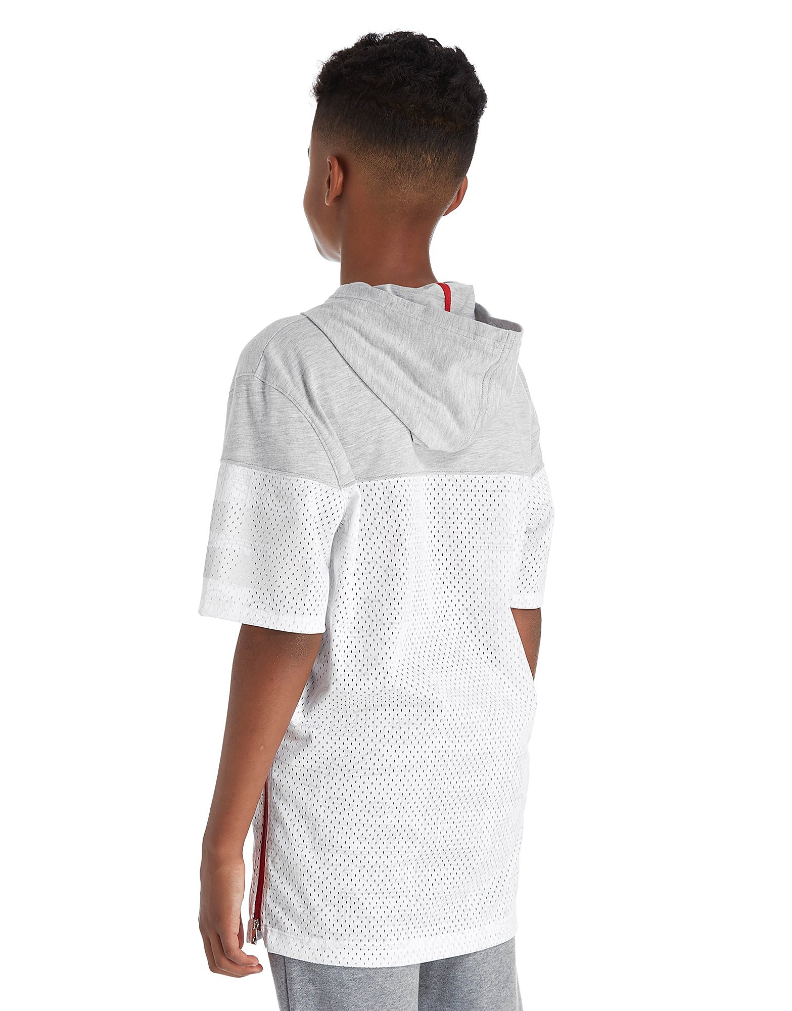 Jordan Mesh Hooded T-Shirt Junior