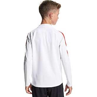 Nike Paris St Germain 1/4 Zip Drill Top Junior