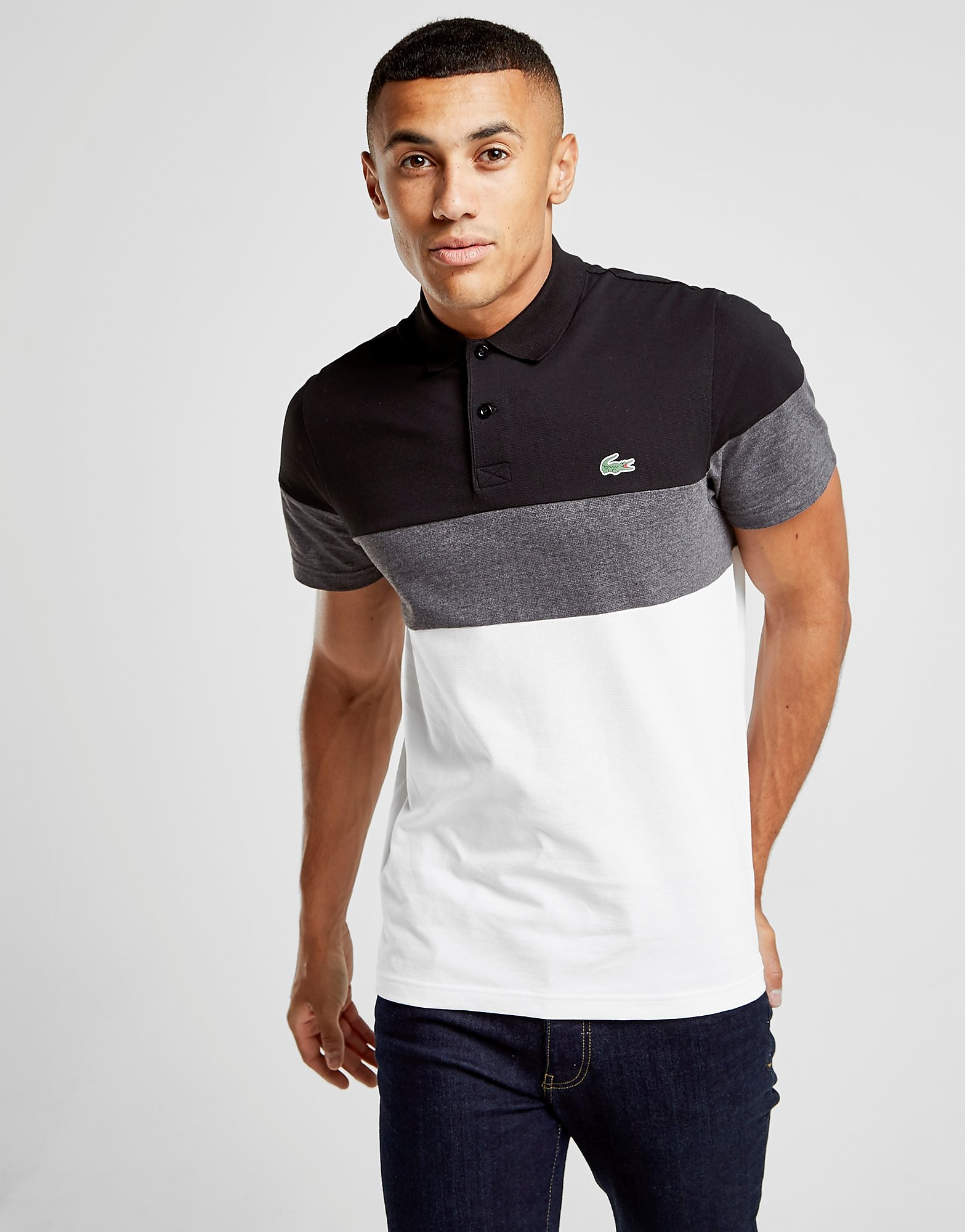 Lacoste Tri Colourblock Polo