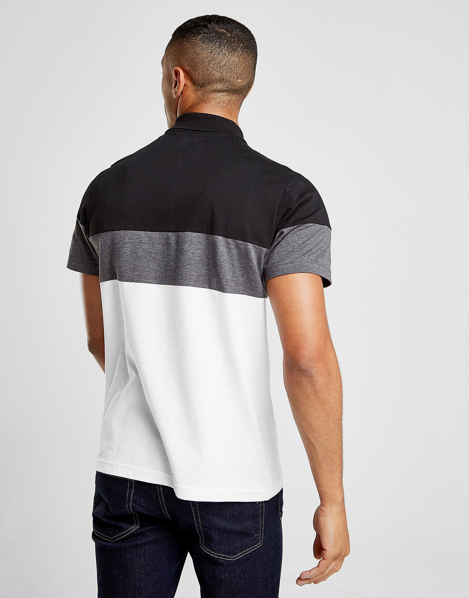 Lacoste Tri Colourblock Polo Heren