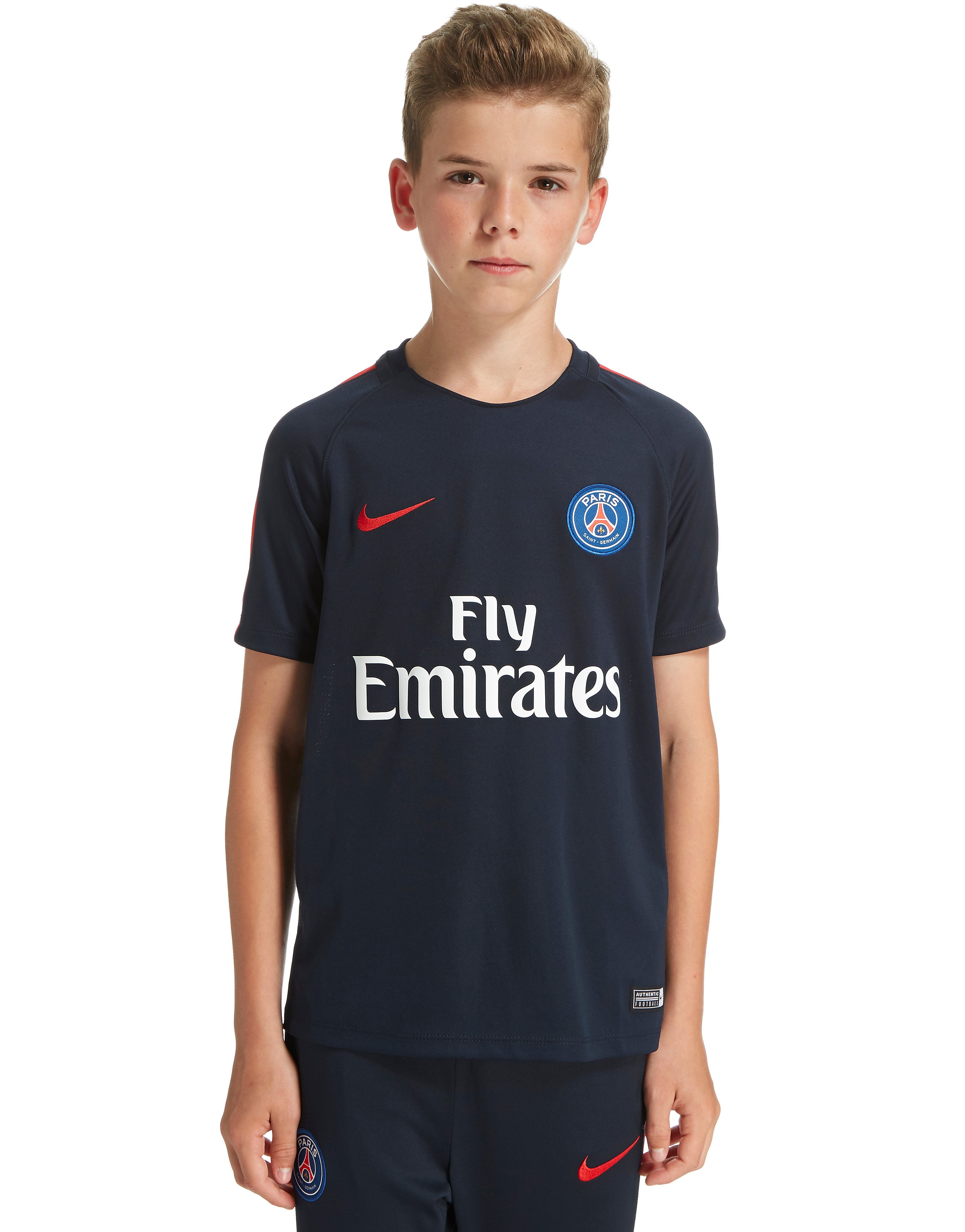 Nike Paris St Germain Training Shirt Junior