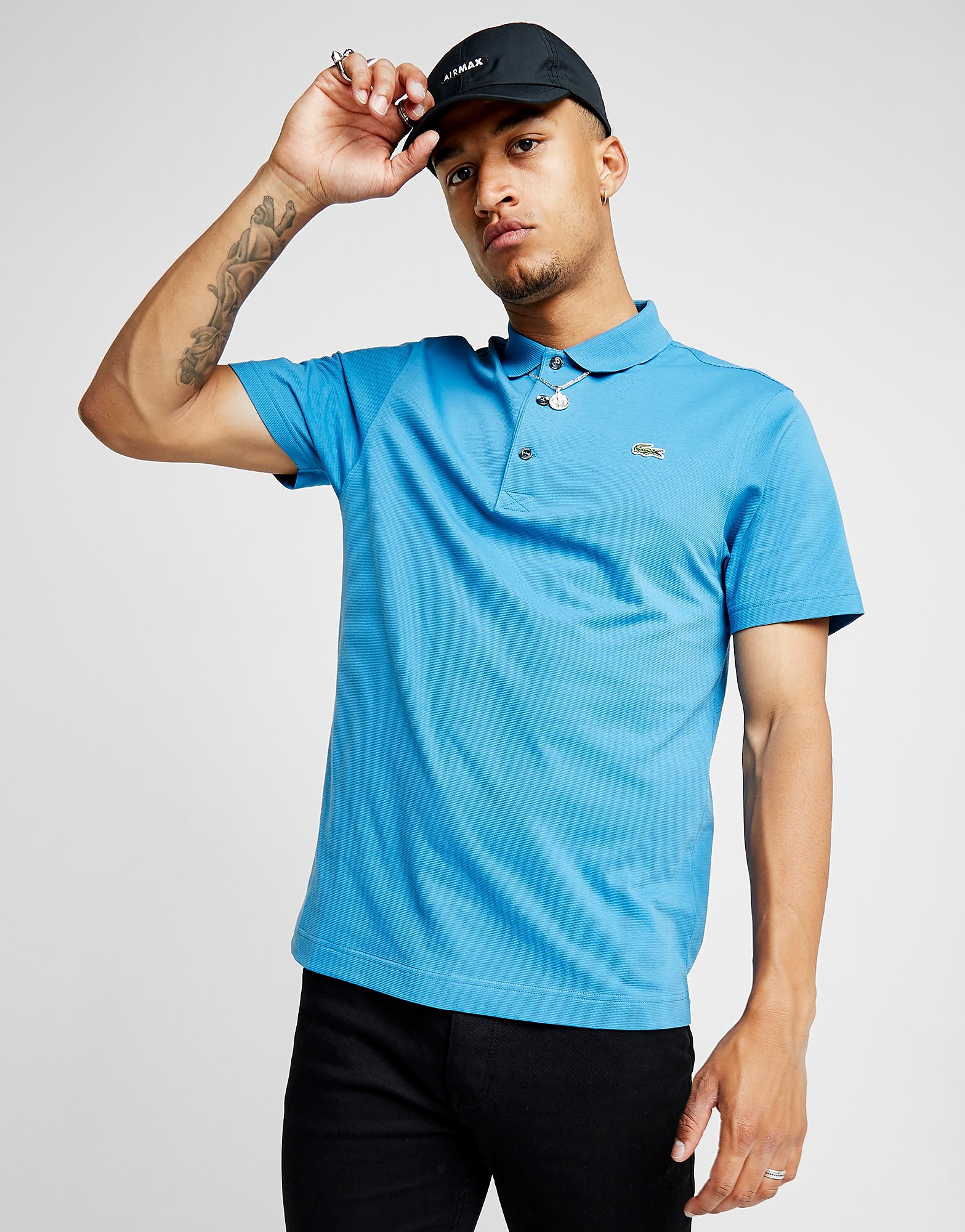 af0e1c32109a Lacoste Alligator Polo Shirt - Bleu, Bleu