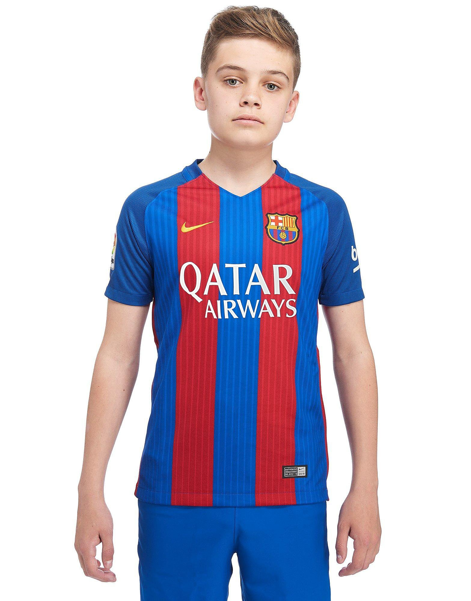 Barcelona t shirt 2016 blue and red nike town for Blue barcelona