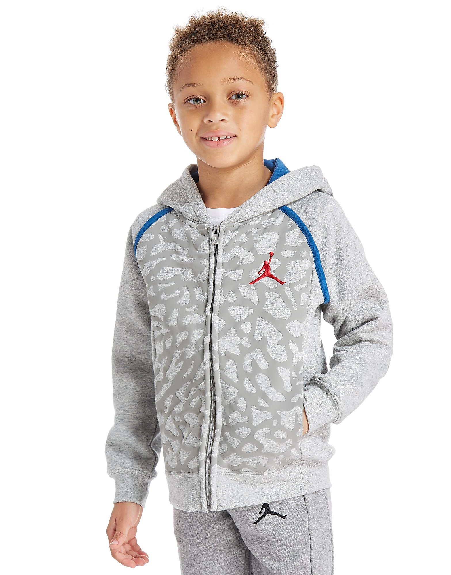 Jordan Air 3 Full Zip Hoodie Children