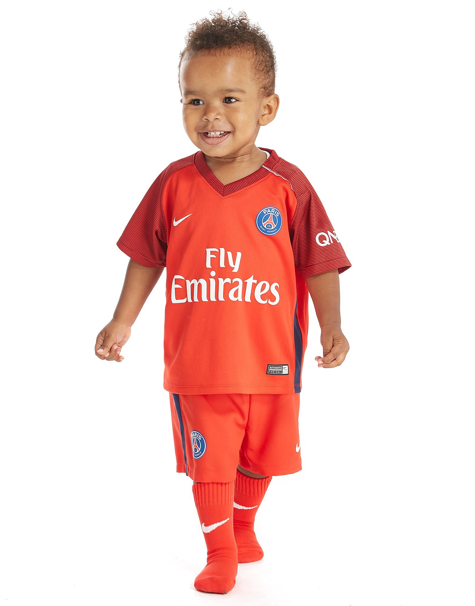 Nike Paris Saint Germain 2016/17 udebanesæt baby