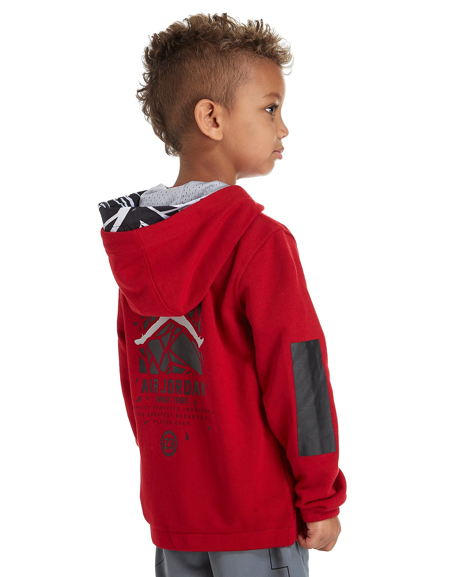 Jordan Air Full Zip Hoodie Children