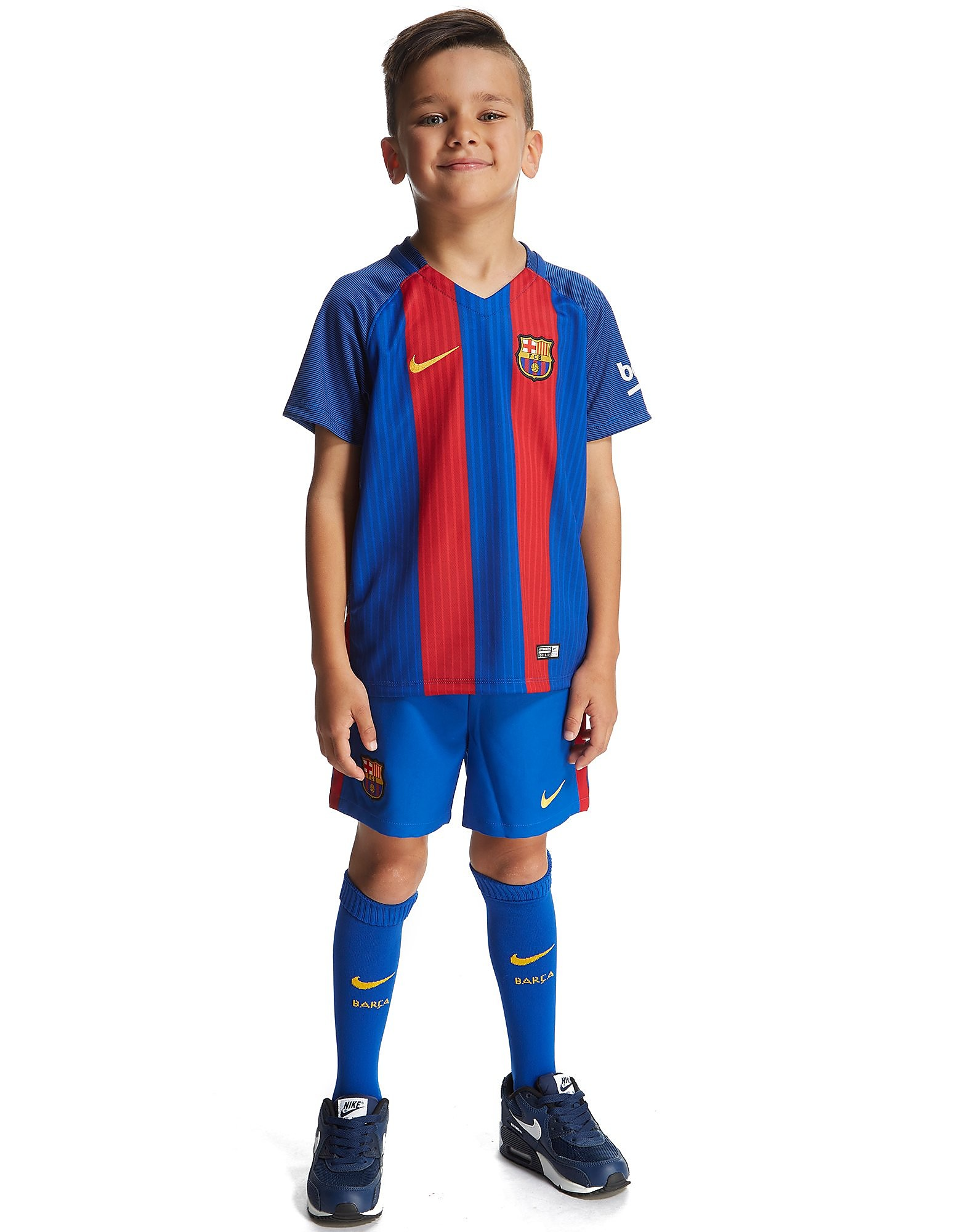 Nike FC Barcelona 2016/17 Home Kit Children