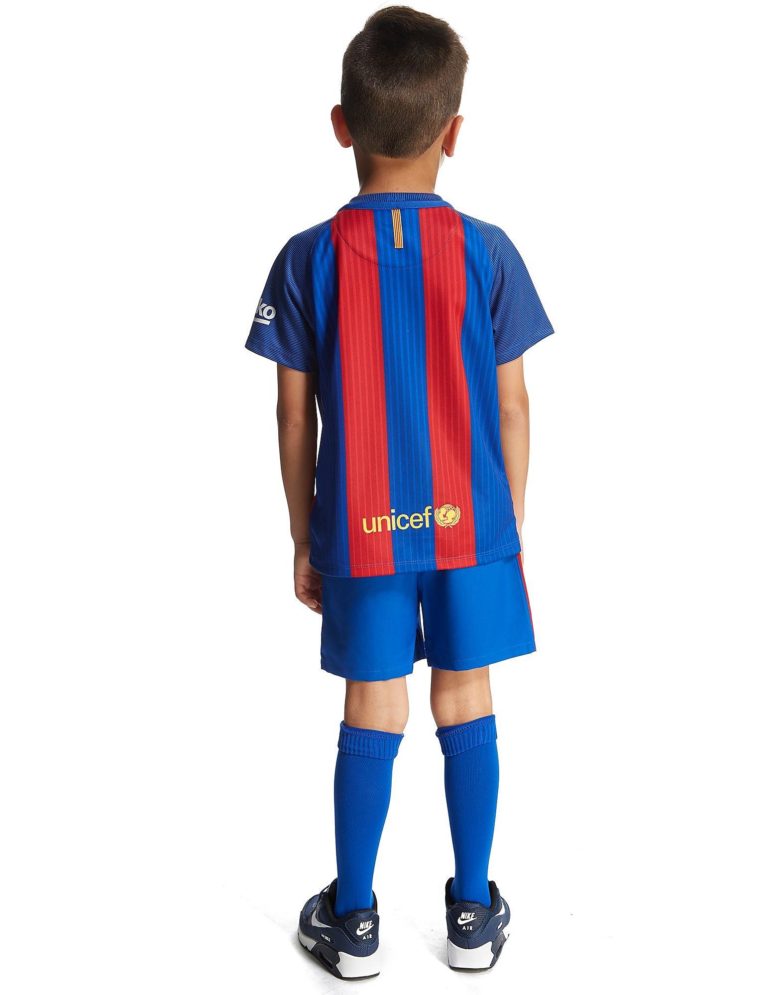 Nike FC Barcelona 2016/17 Home Kit Children