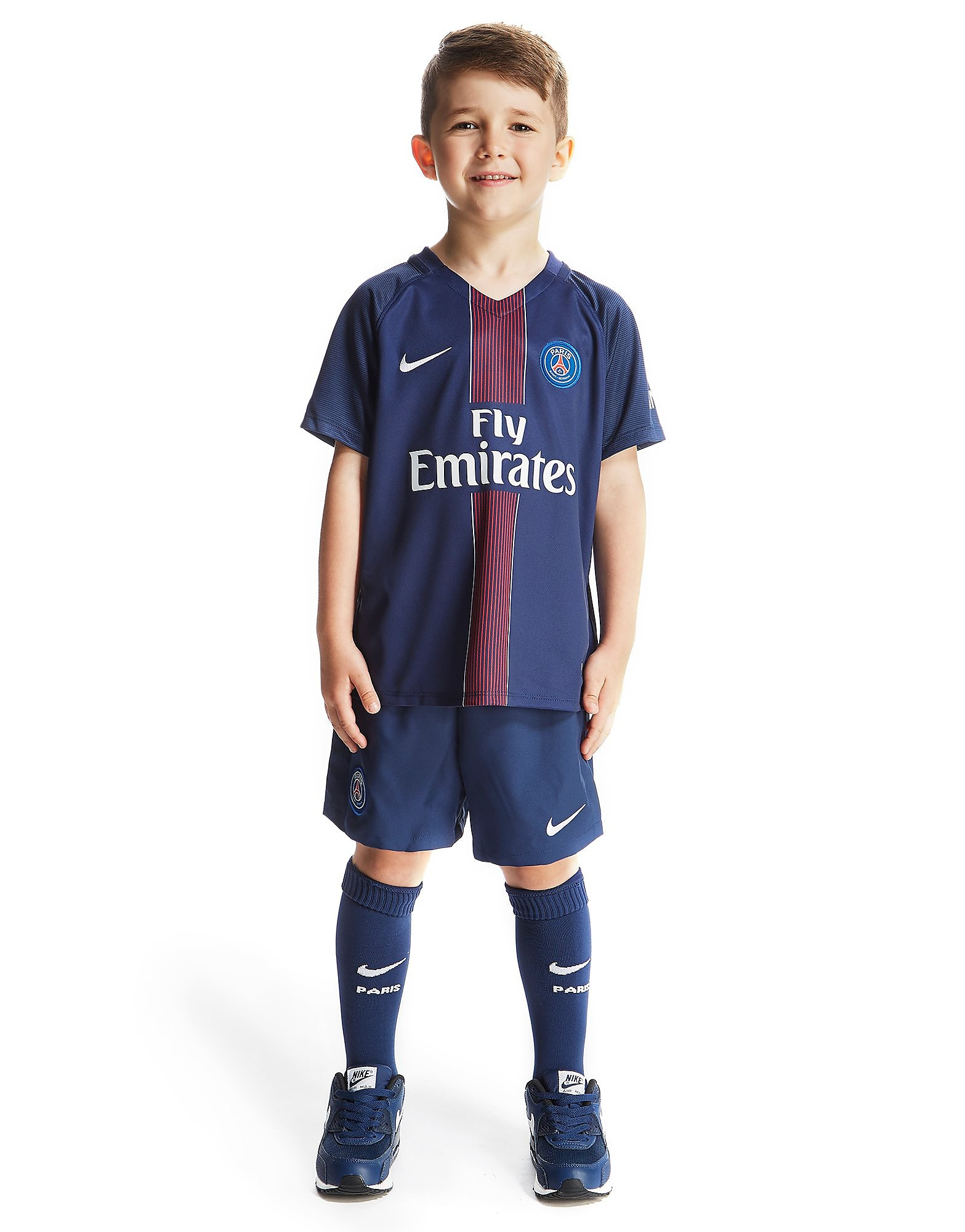 Nike Paris Saint Germain Home 2016/17 Kit Children