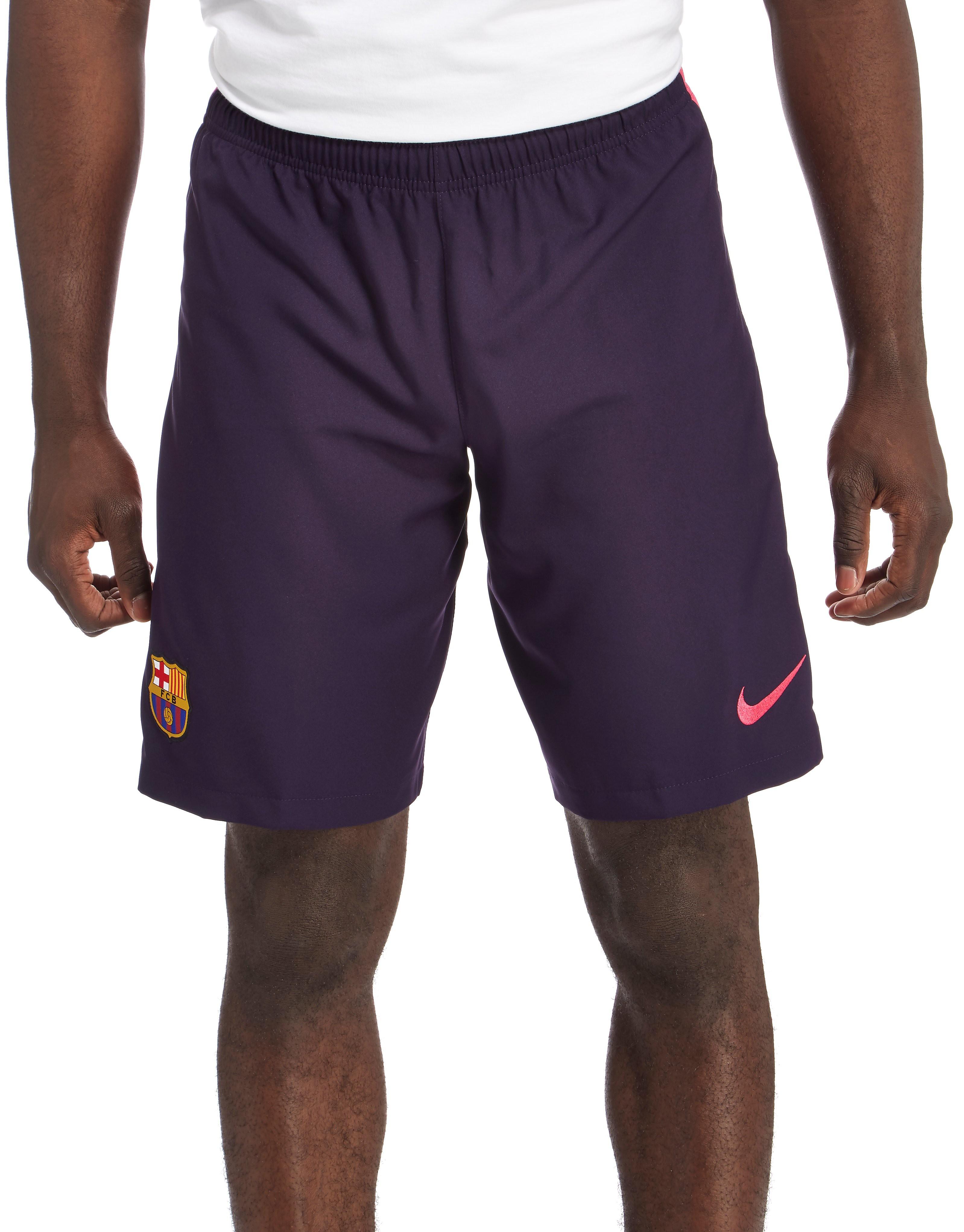 Nike FC Barcelona 2016/17 Away Shorts