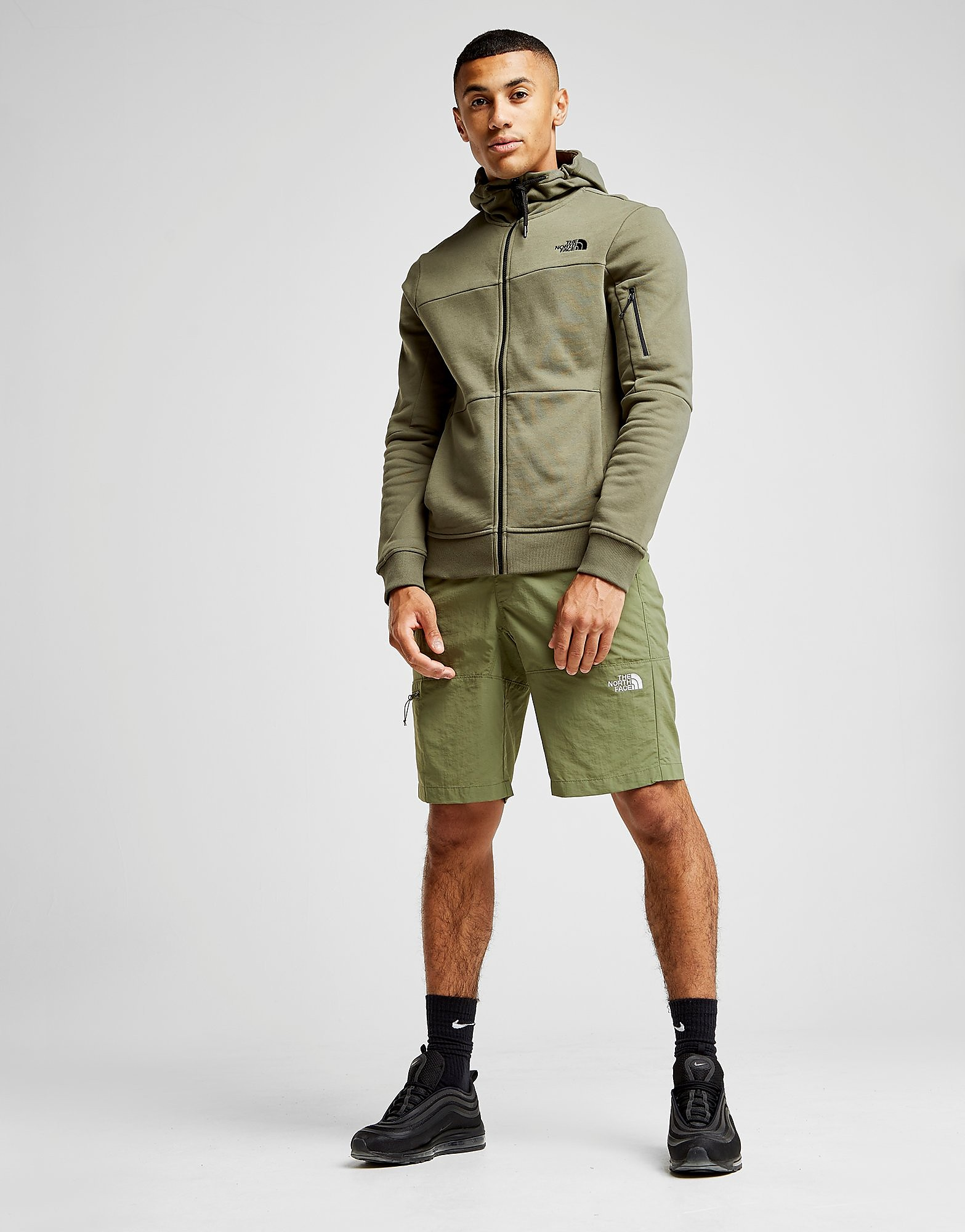 The North Face Z-Pocket Full Zip Hoodie Herre