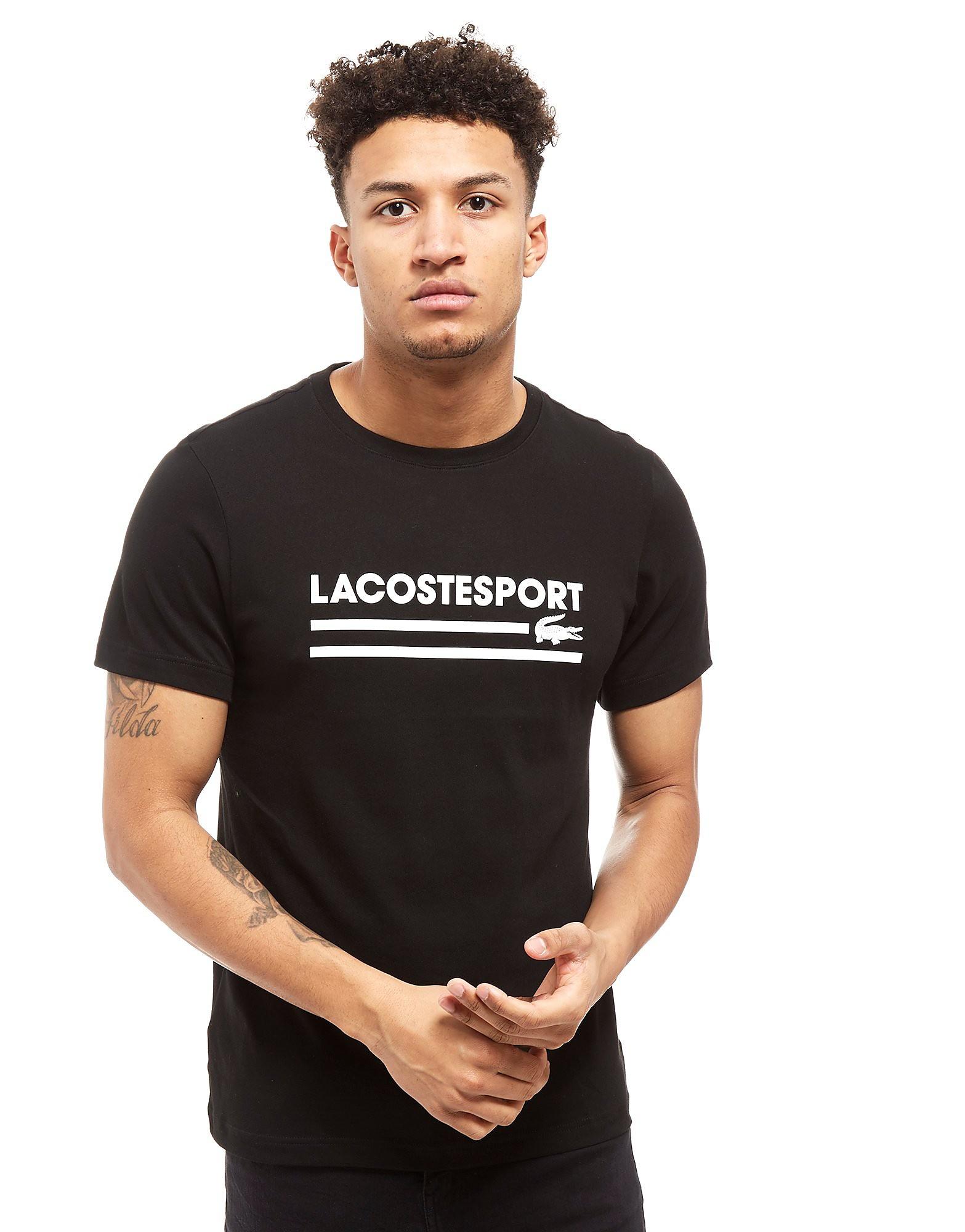 Lacoste Large Print Logo T-Shirt