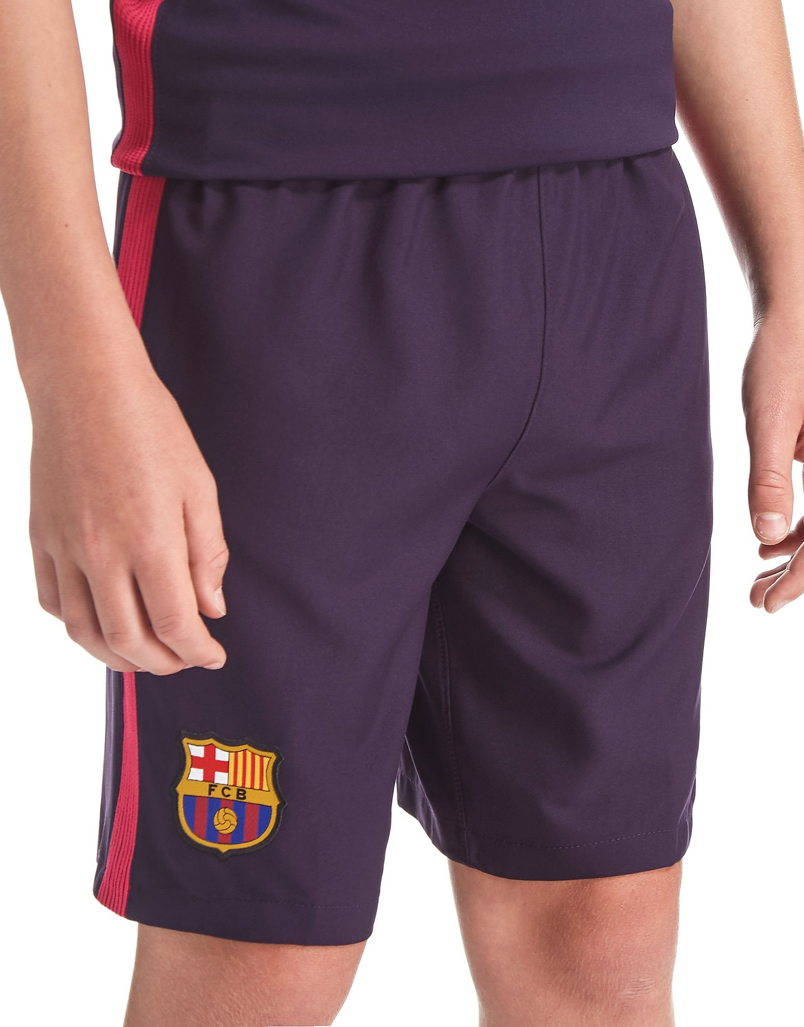 Nike FC Barcelona 2016/17 Away Shorts Junior