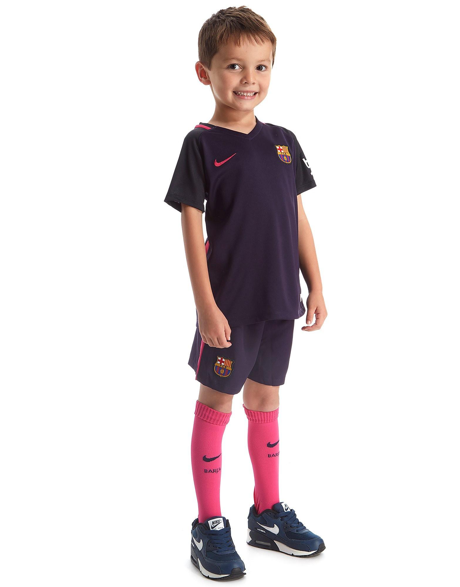 Nike FC Barcelona 2016/17 Away Kit Children
