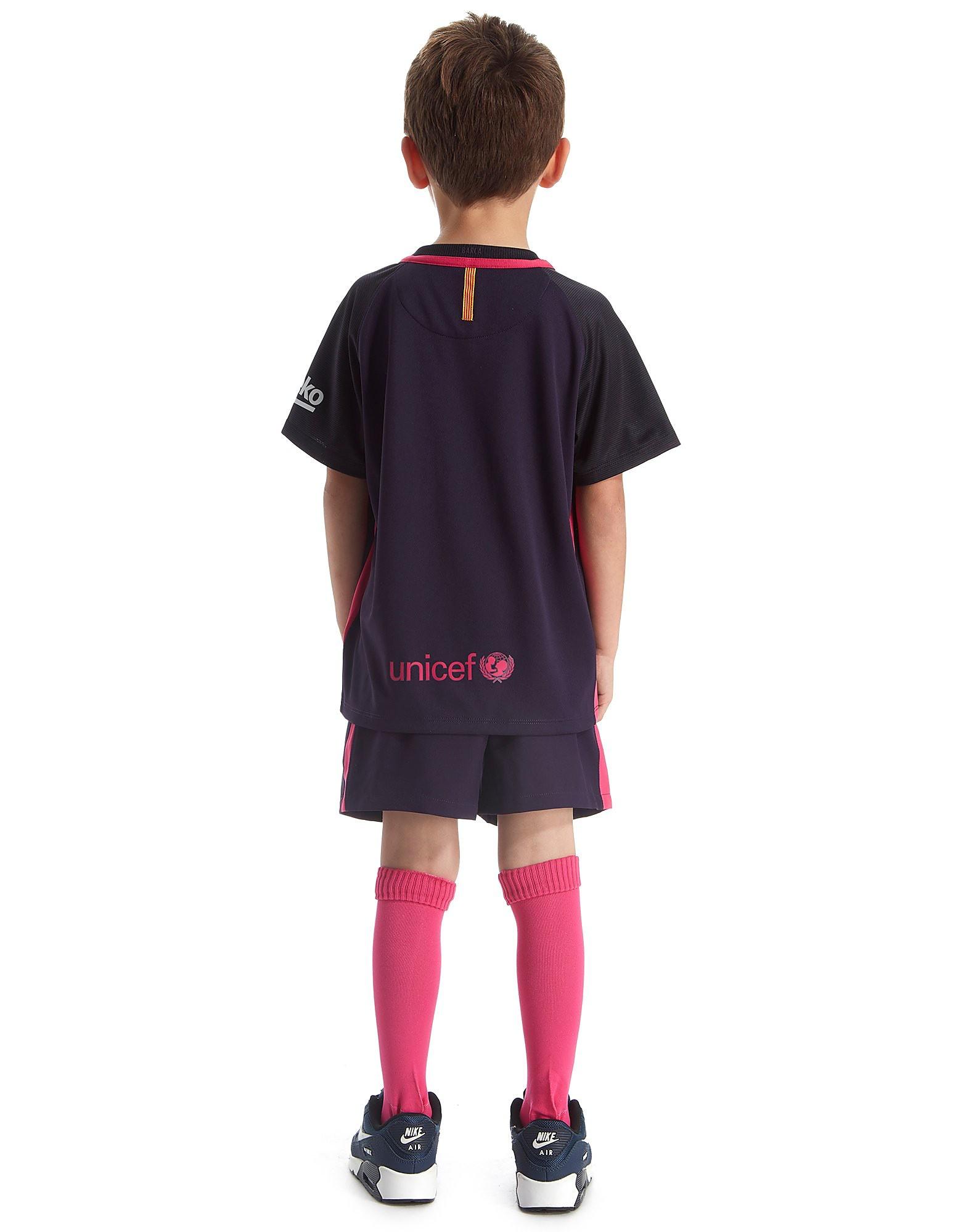 Nike Kit extérieur FC Barcelone 2016/17 enfant
