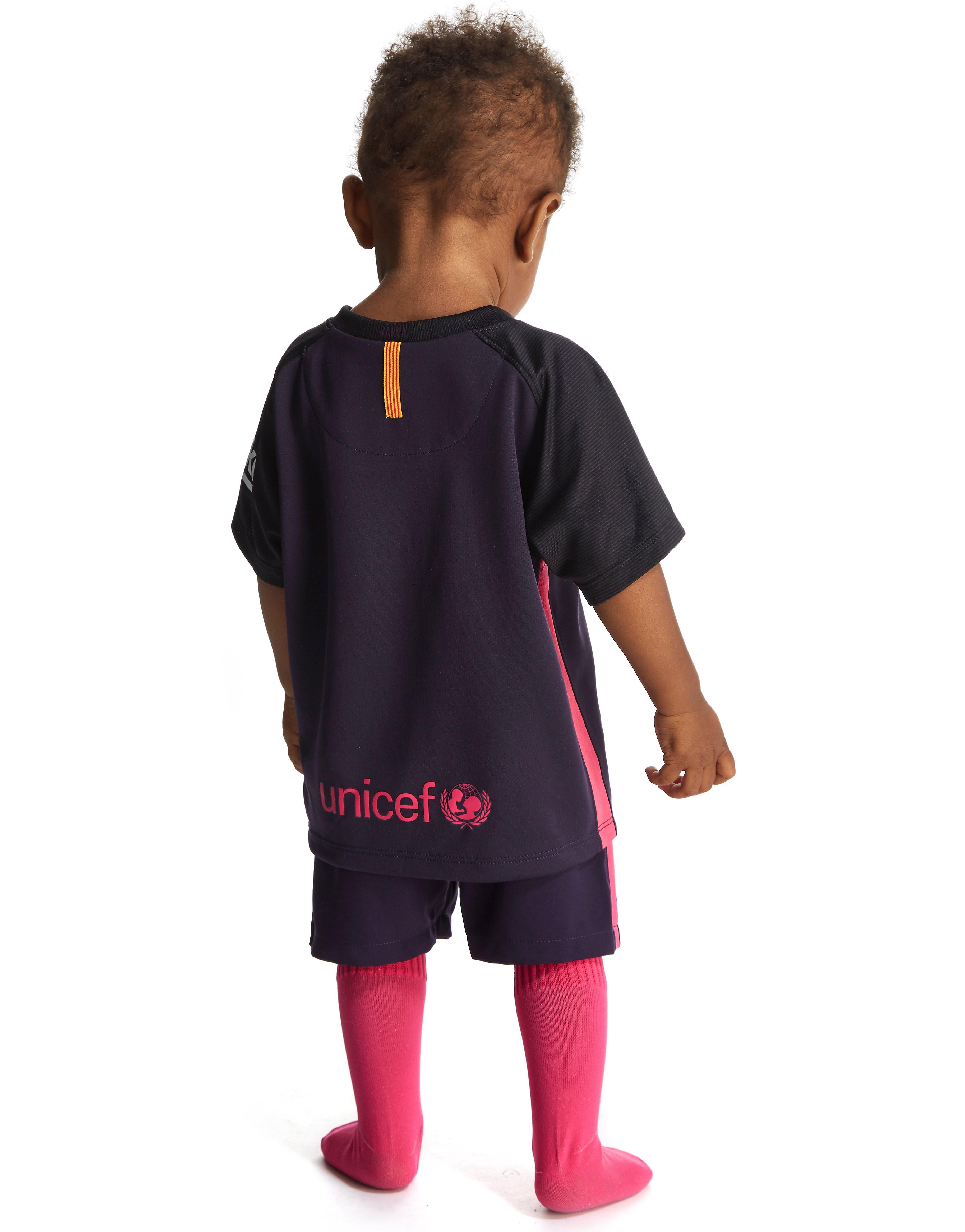 Nike FC Barcelona 2016/17 bortadräkt för baby