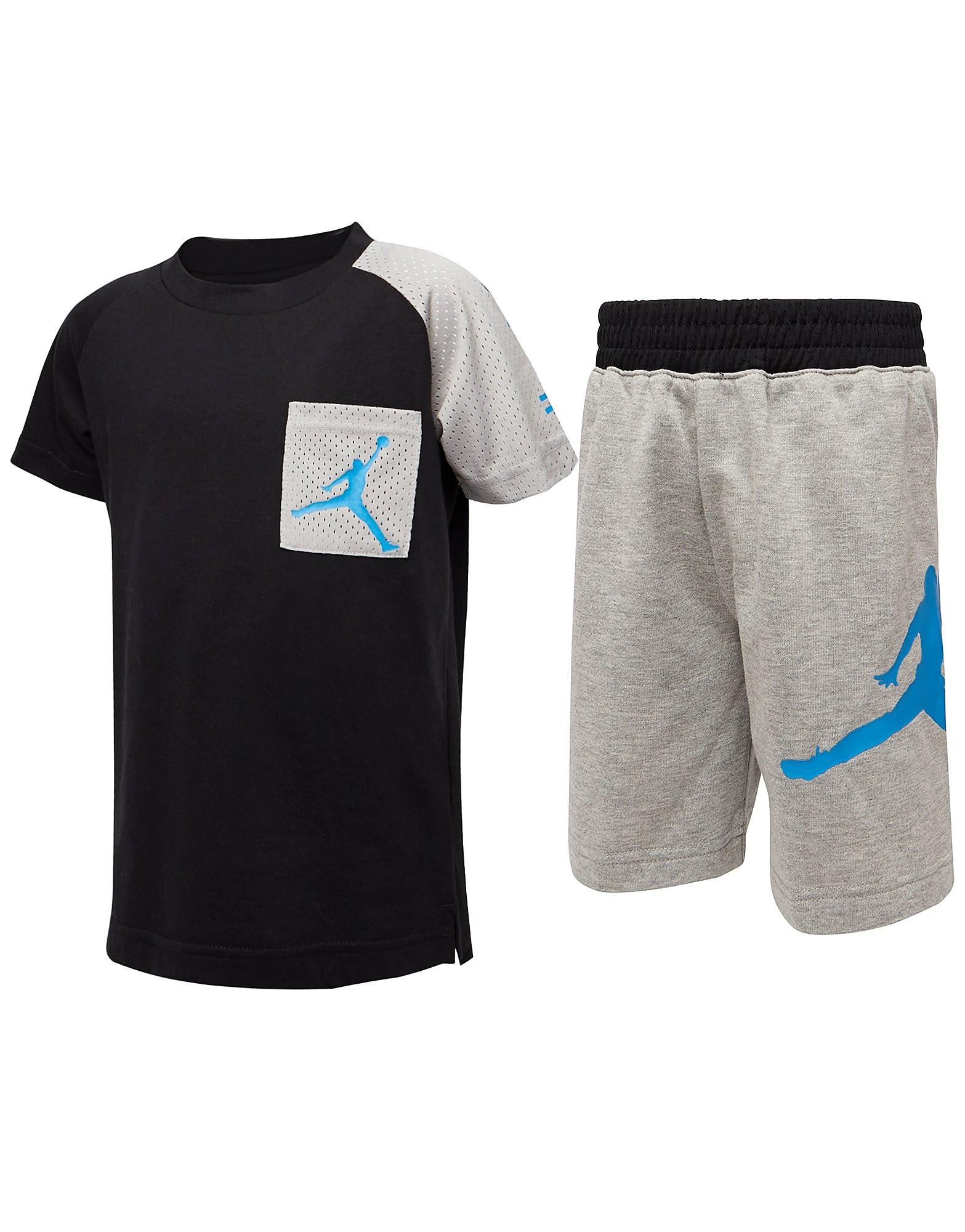 Jordan Air T-Shirt and Shorts Set Children