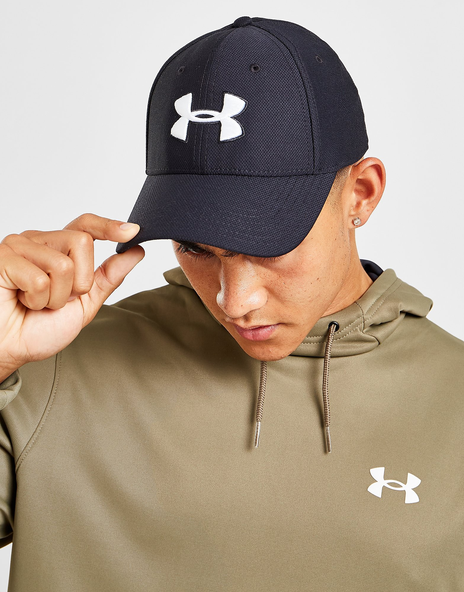 Under Armour Blitzing 2 Pet - Zwart - Heren
