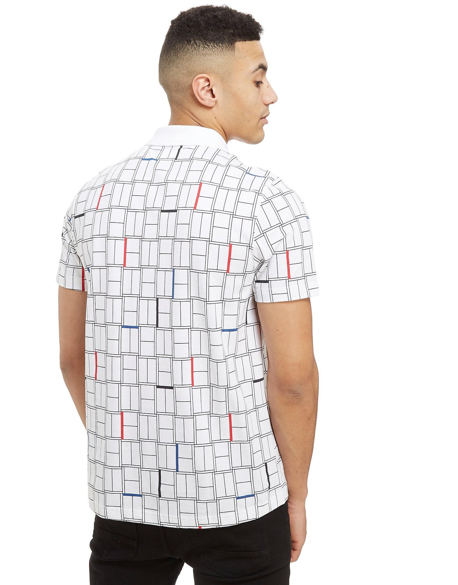 Lacoste Djokovic Grid Check Polo Shirt