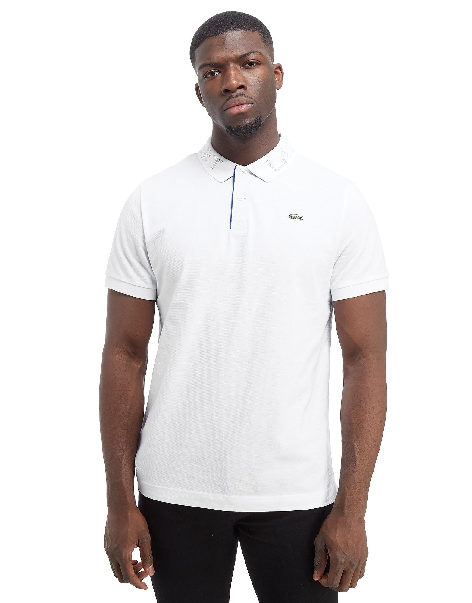 Lacoste Print Collar Polo Shirt