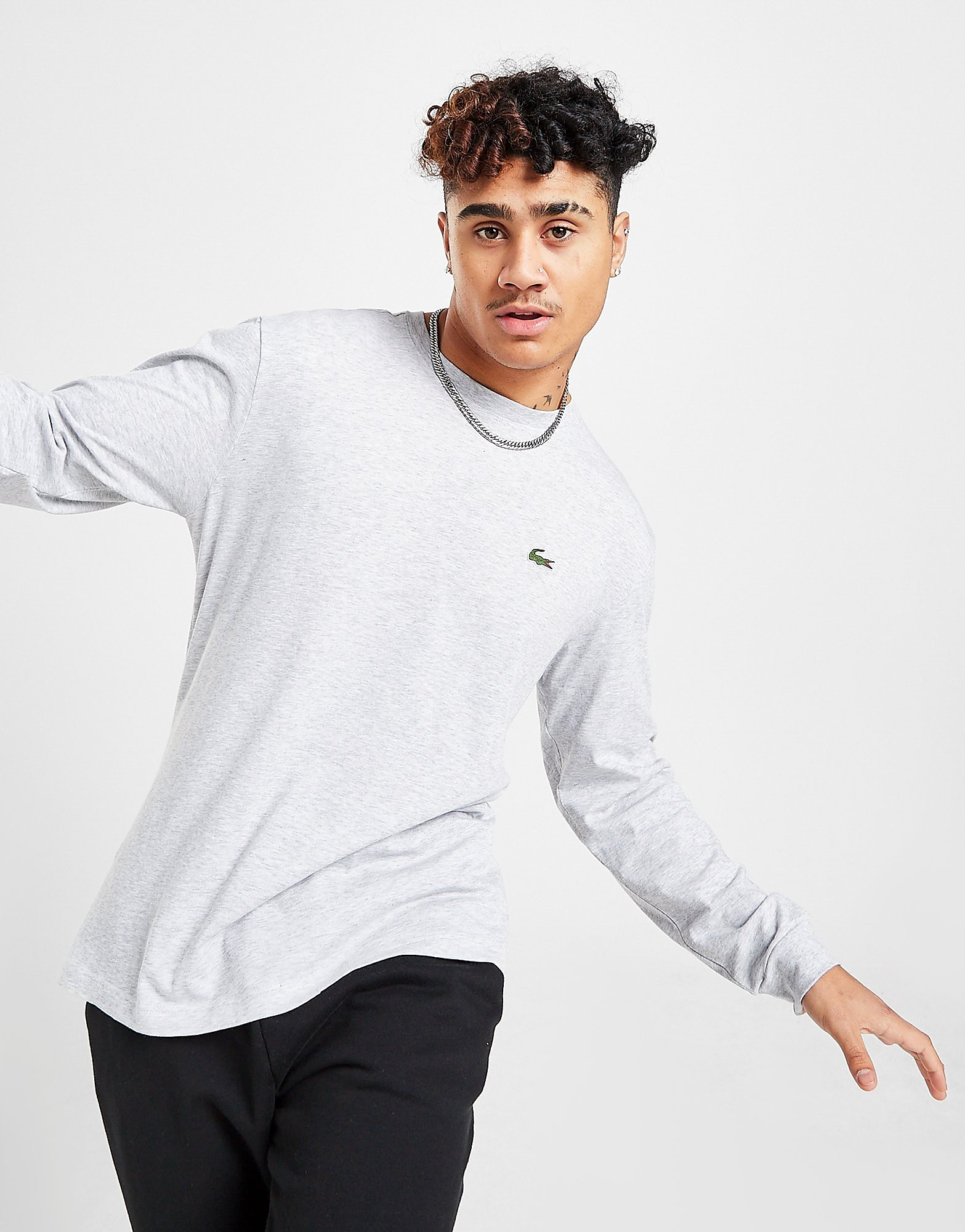 Lacoste Long Sleeve Croc T-Shirt