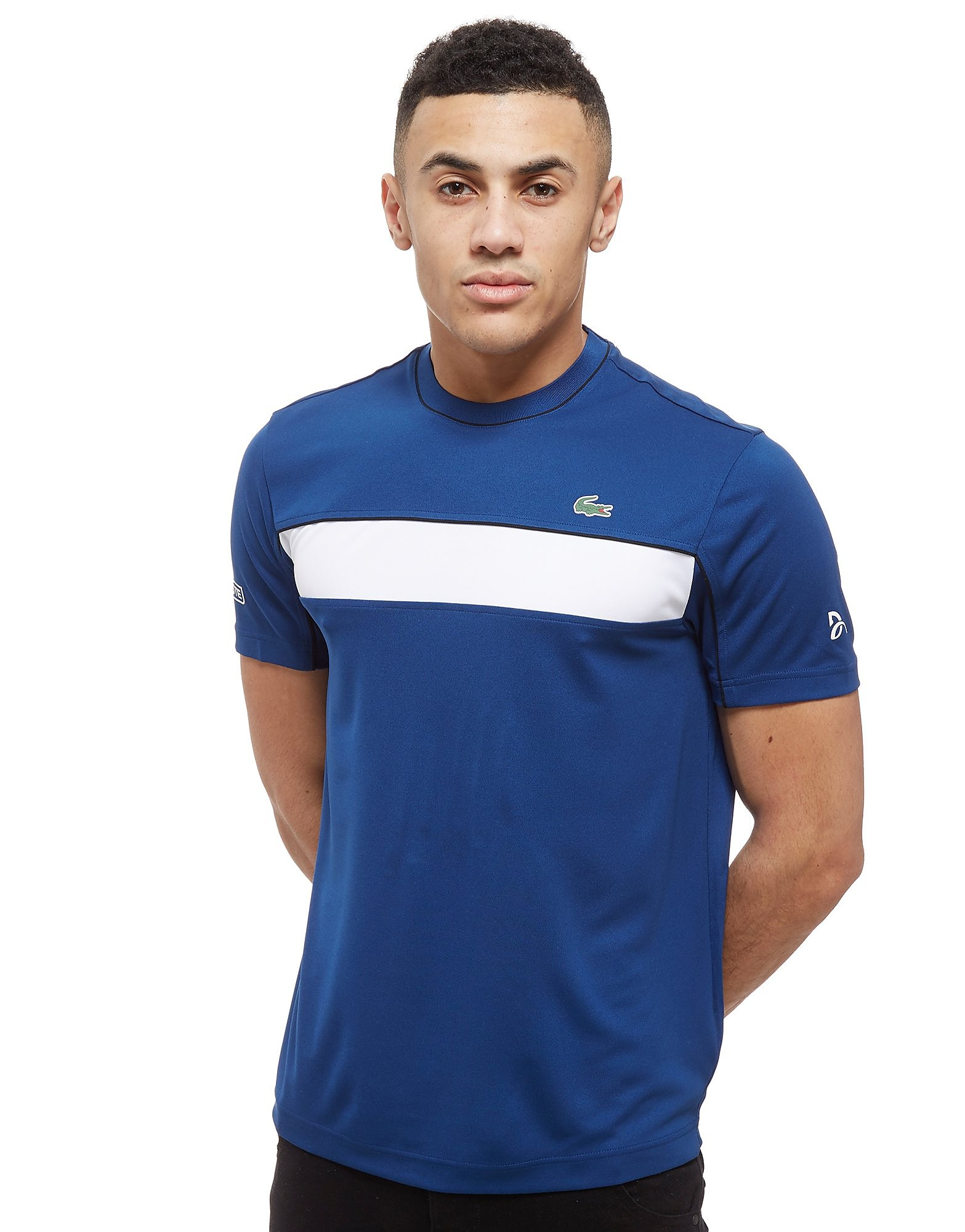 Lacoste T-shirt Djokovic Colourblock Tech Homme