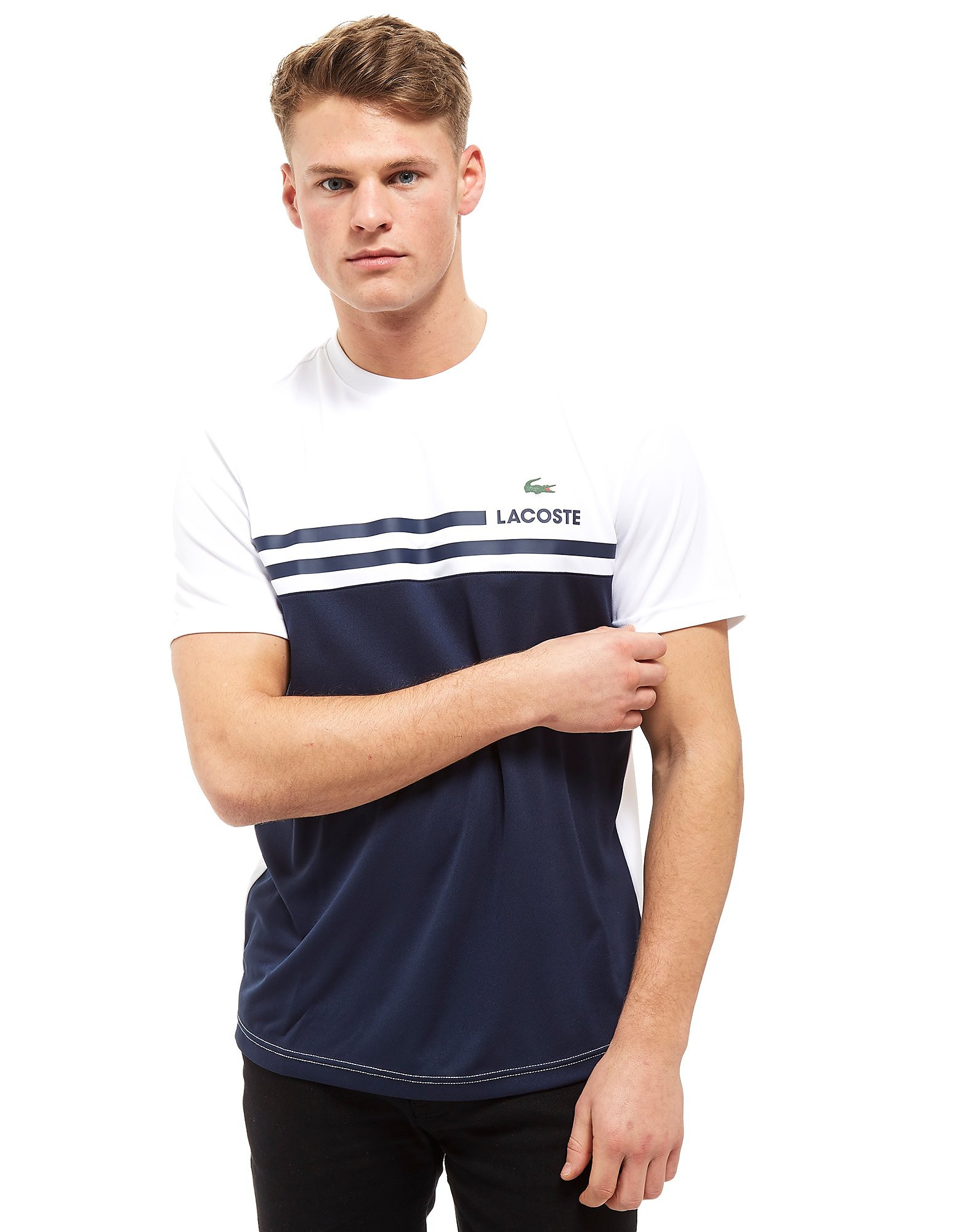Lacoste Control Colourblock Line T-Shirt