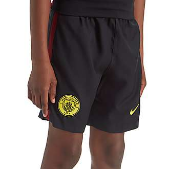 Nike Manchester City 2016/17 Away Shorts Jnr PRE ORDER