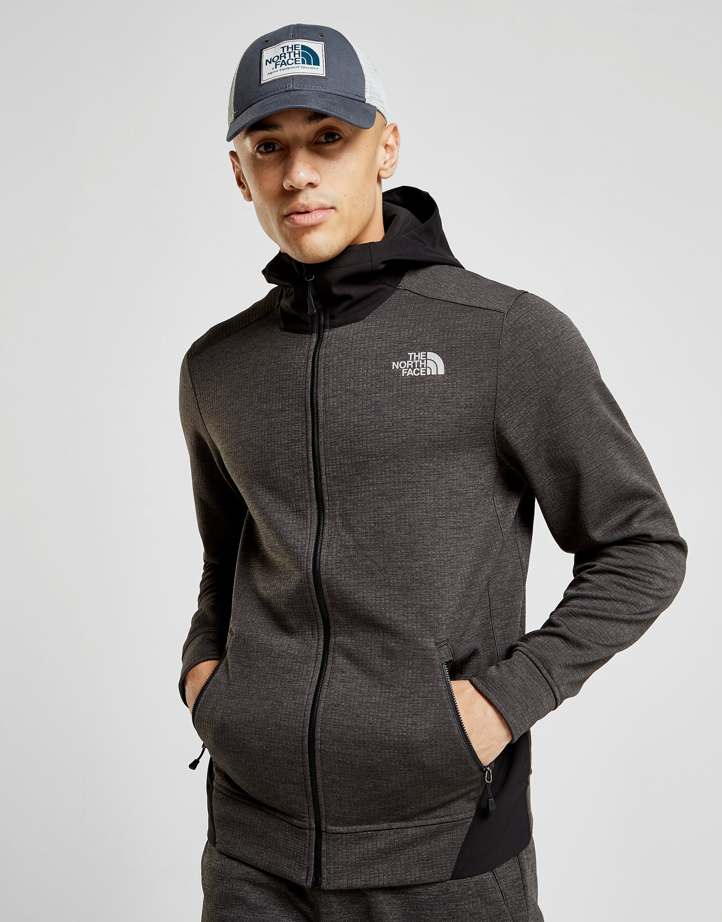 The North Face Tenacious Grid Full Zip Hoodie