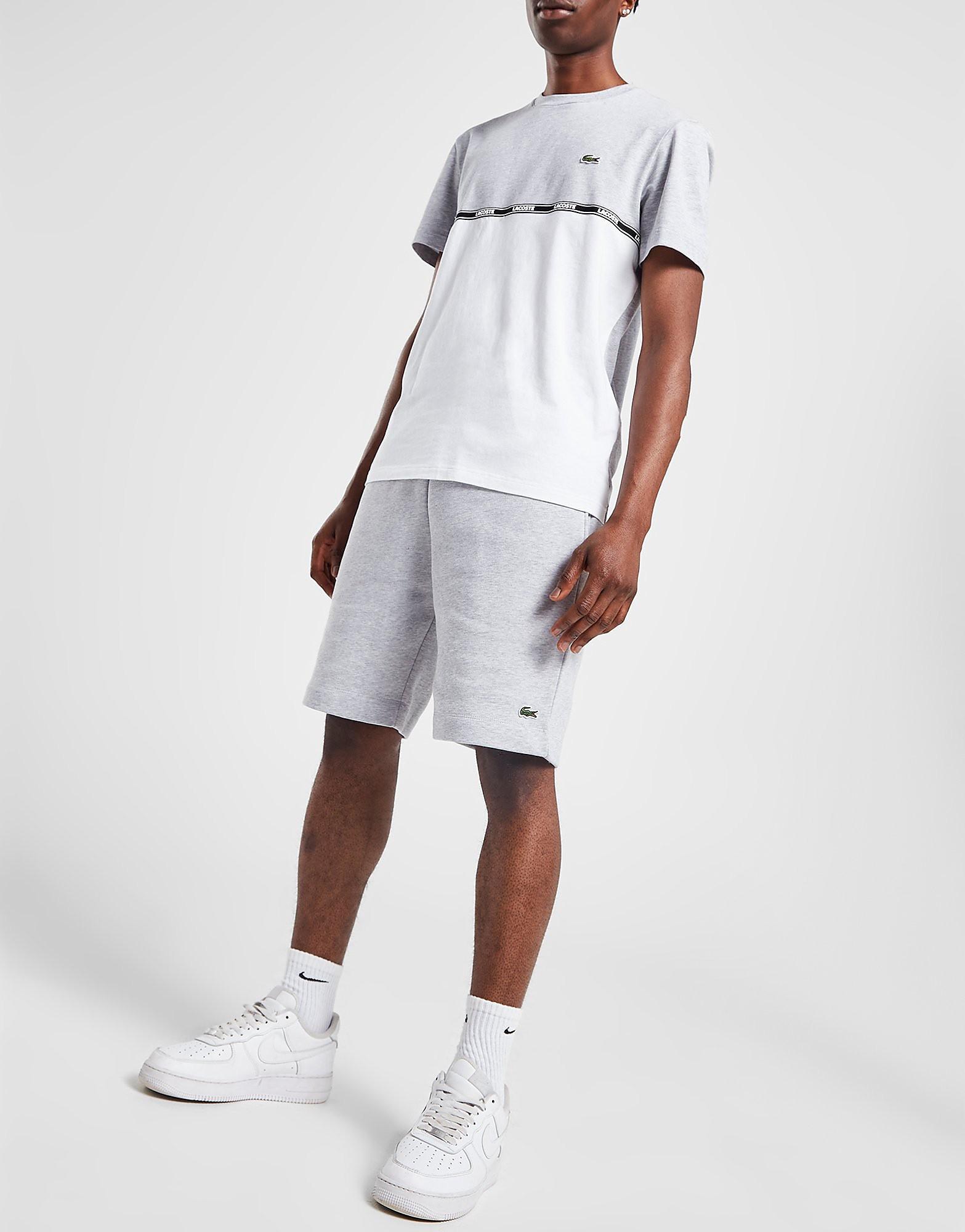 Lacoste Fleece Core Shorts Heren - Grijs - Heren