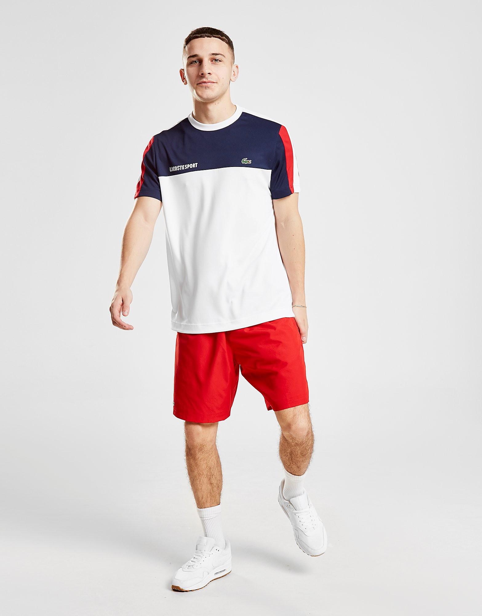 Lacoste Footing Shorts Heren - Rood - Heren