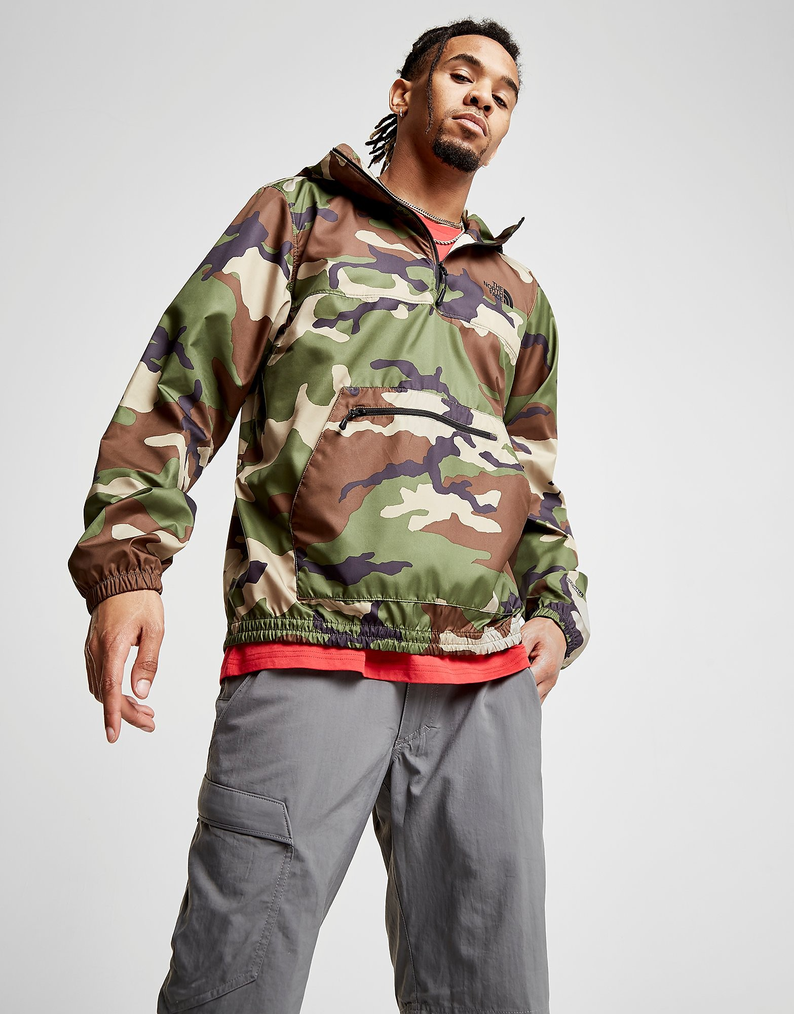 The North Face Flyweight 1/2 Zip Jacket