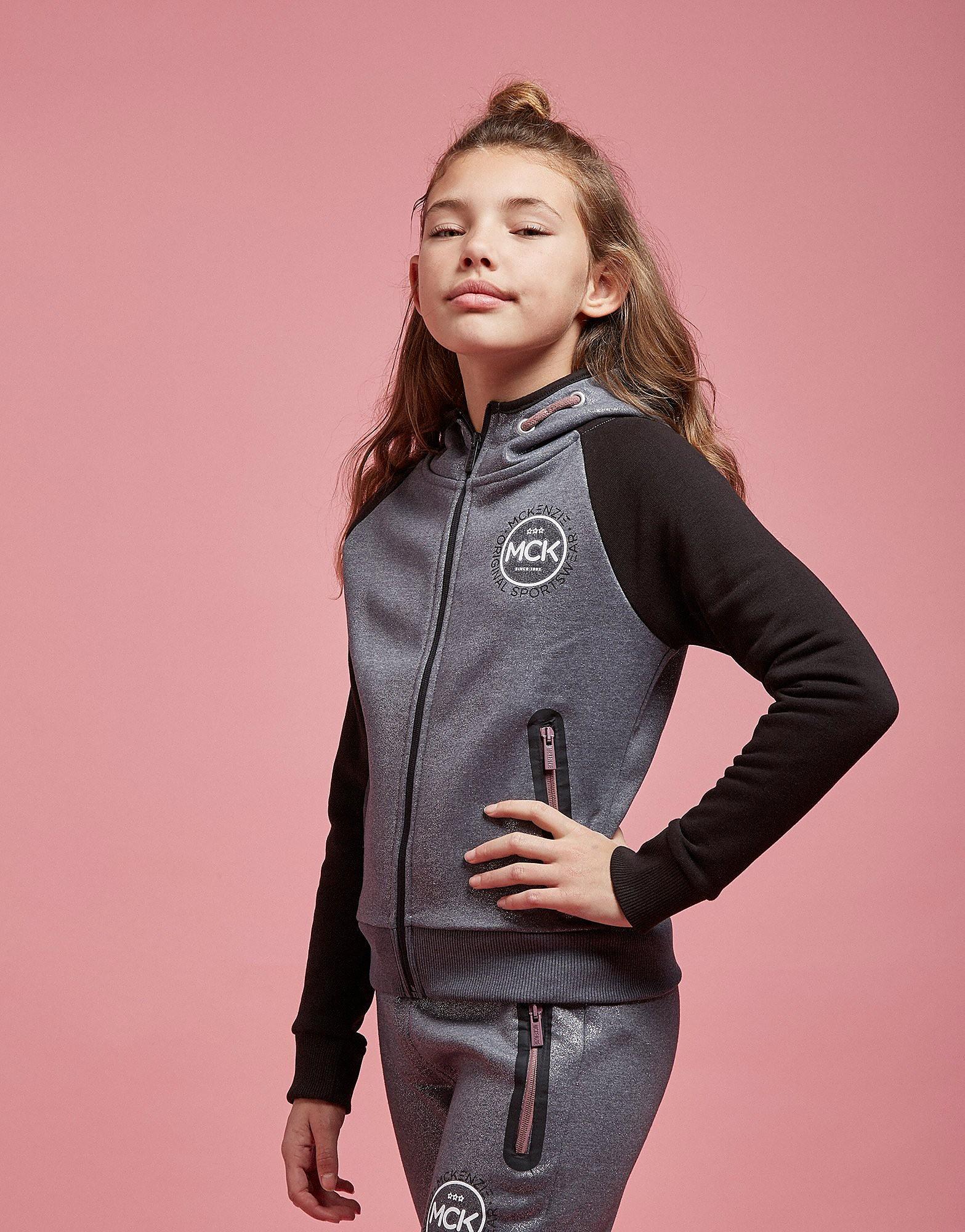 McKenzie Girls' Josie Glitter Fleece Hoodie Junior