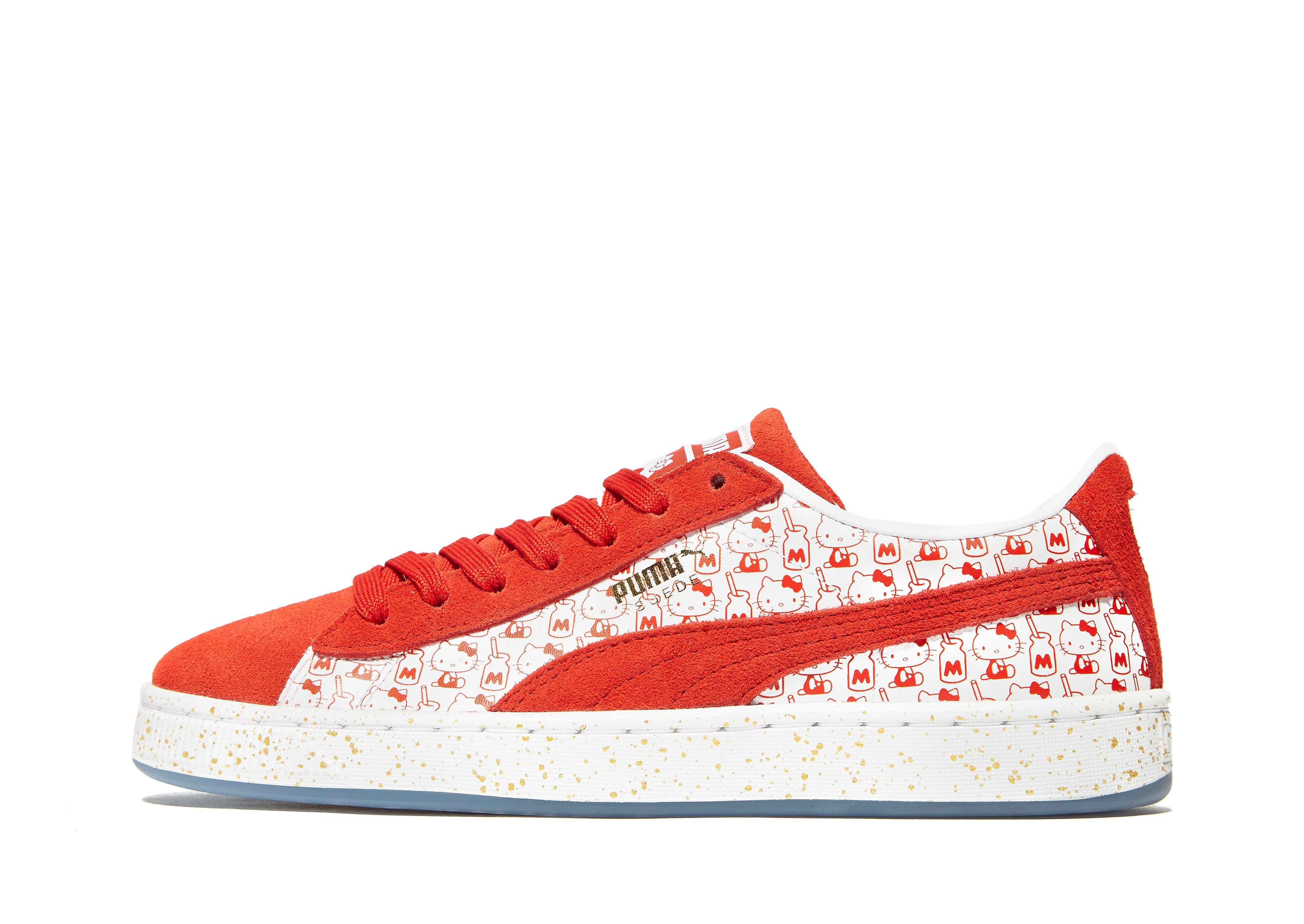 PUMA Suede Hello Kitty infantil