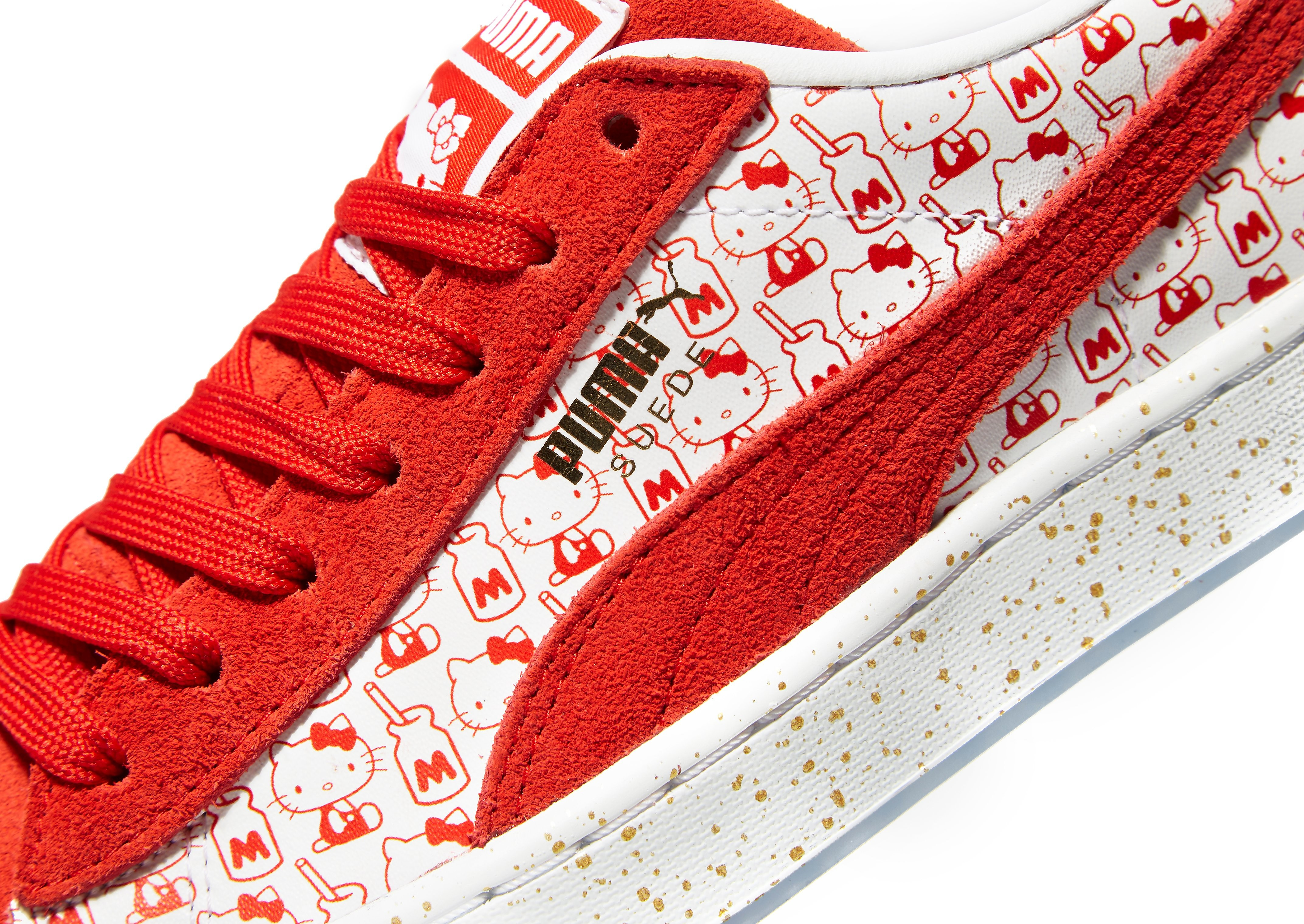 PUMA Suede Hello Kitty Enfant