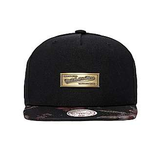 Mitchell & Ness Metal Badge Floral Snapback Cap