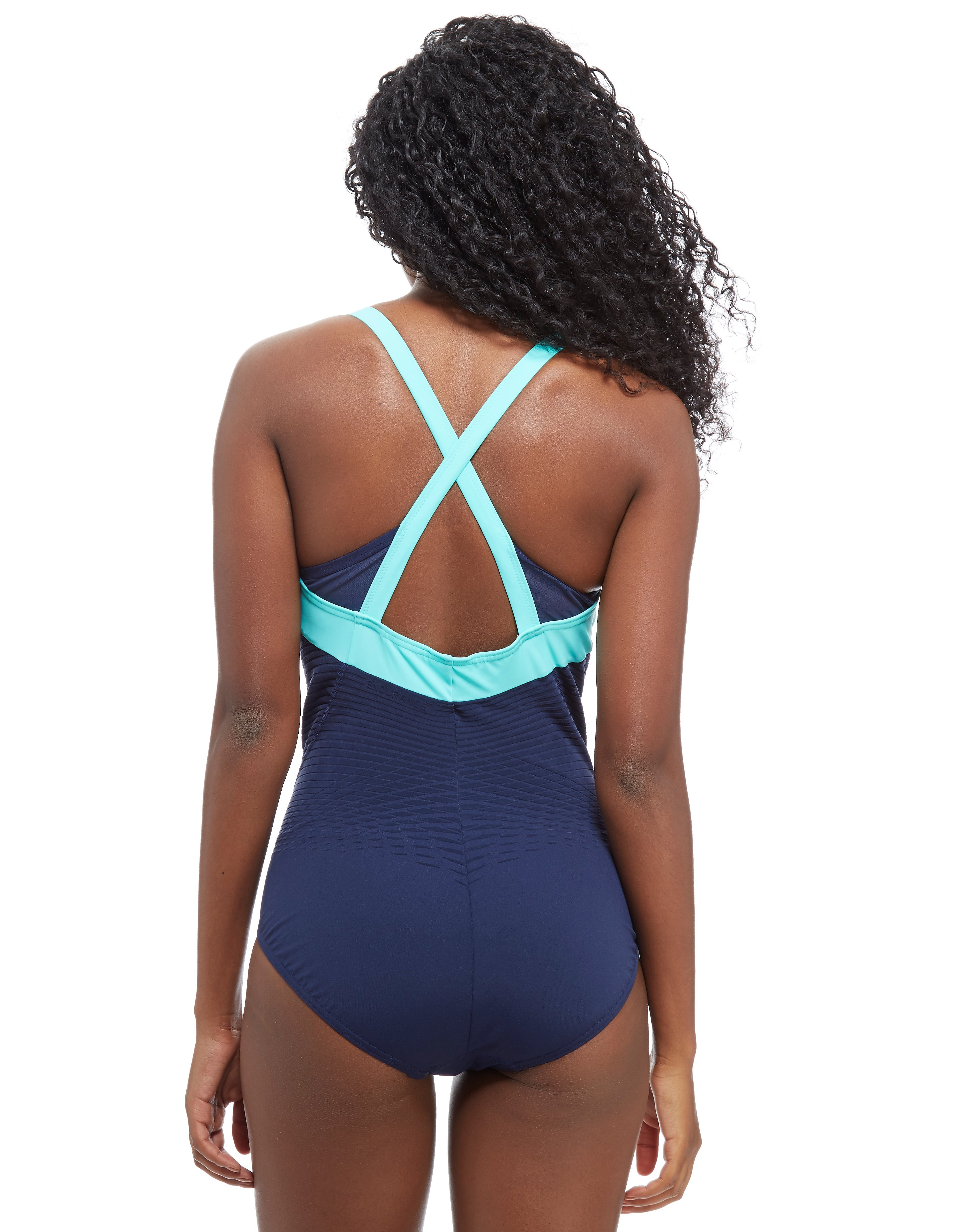 Speedo Fit Power Form Crossback Swimsuit Women's