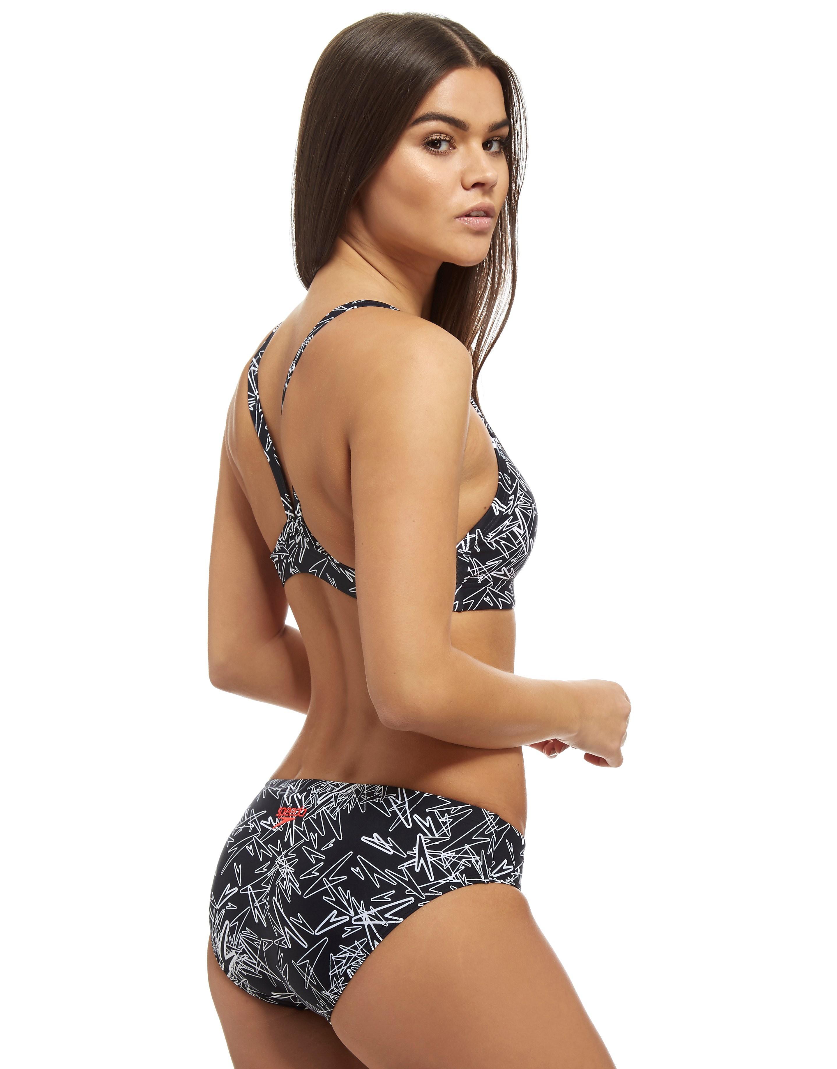 Speedo Boom Allover Two Piece Swimsuit Women's