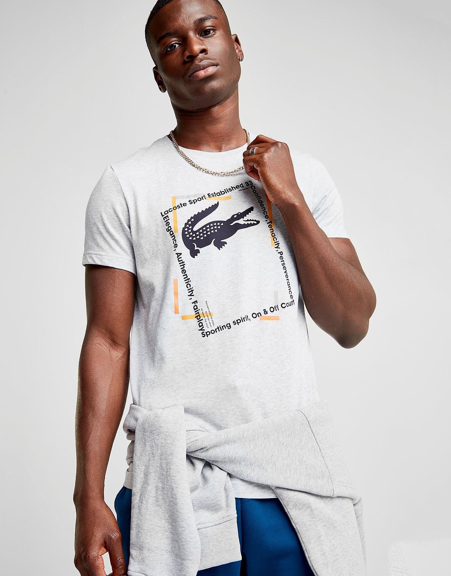 Lacoste Croc Box T-Shirt