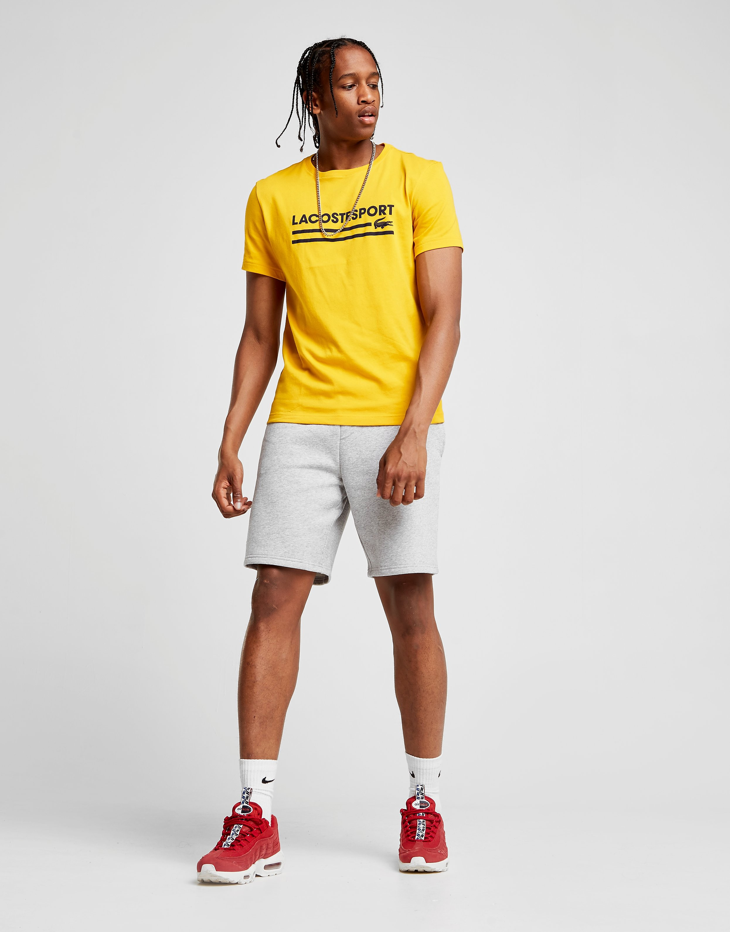 Lacoste Central Line T-Shirt Heren