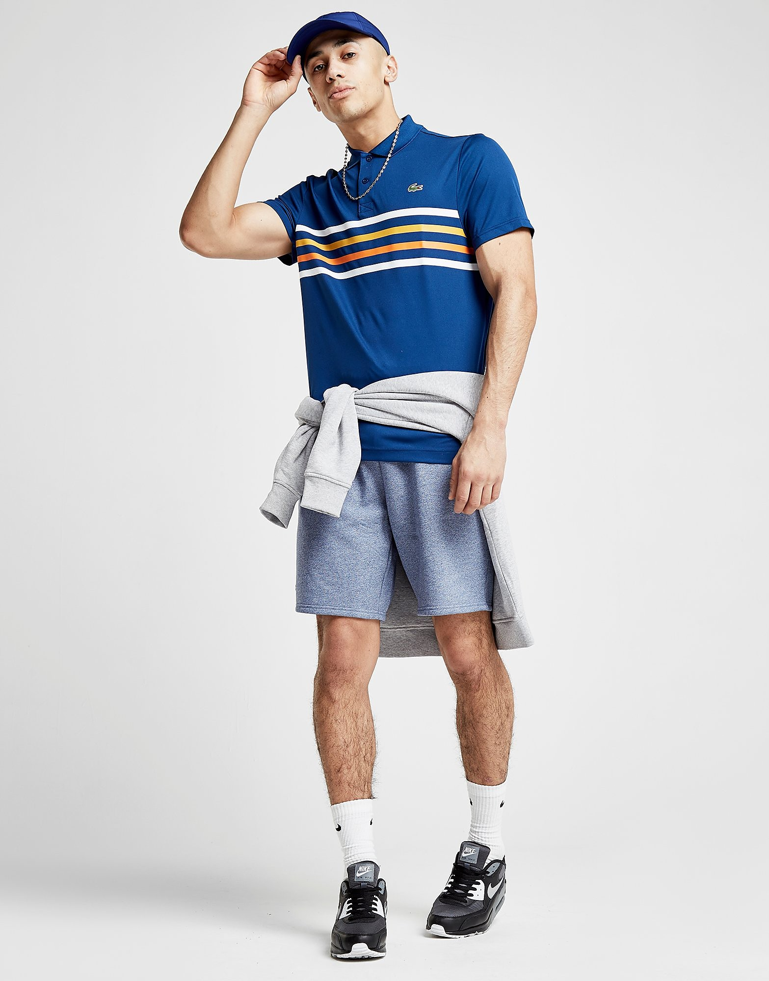 Lacoste Central 4 Lines Polo Shirt
