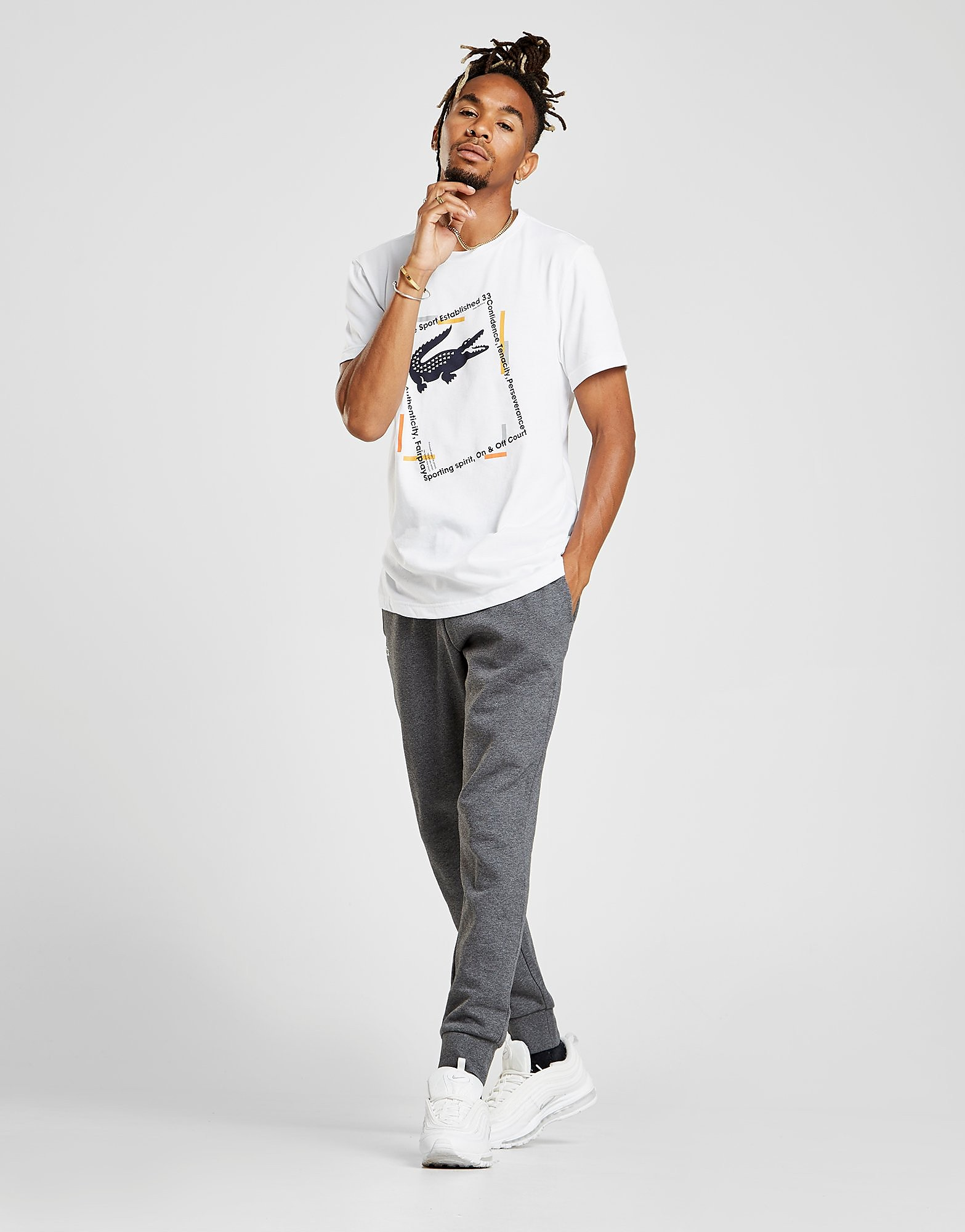 Lacoste T-shirt Croc Box Homme