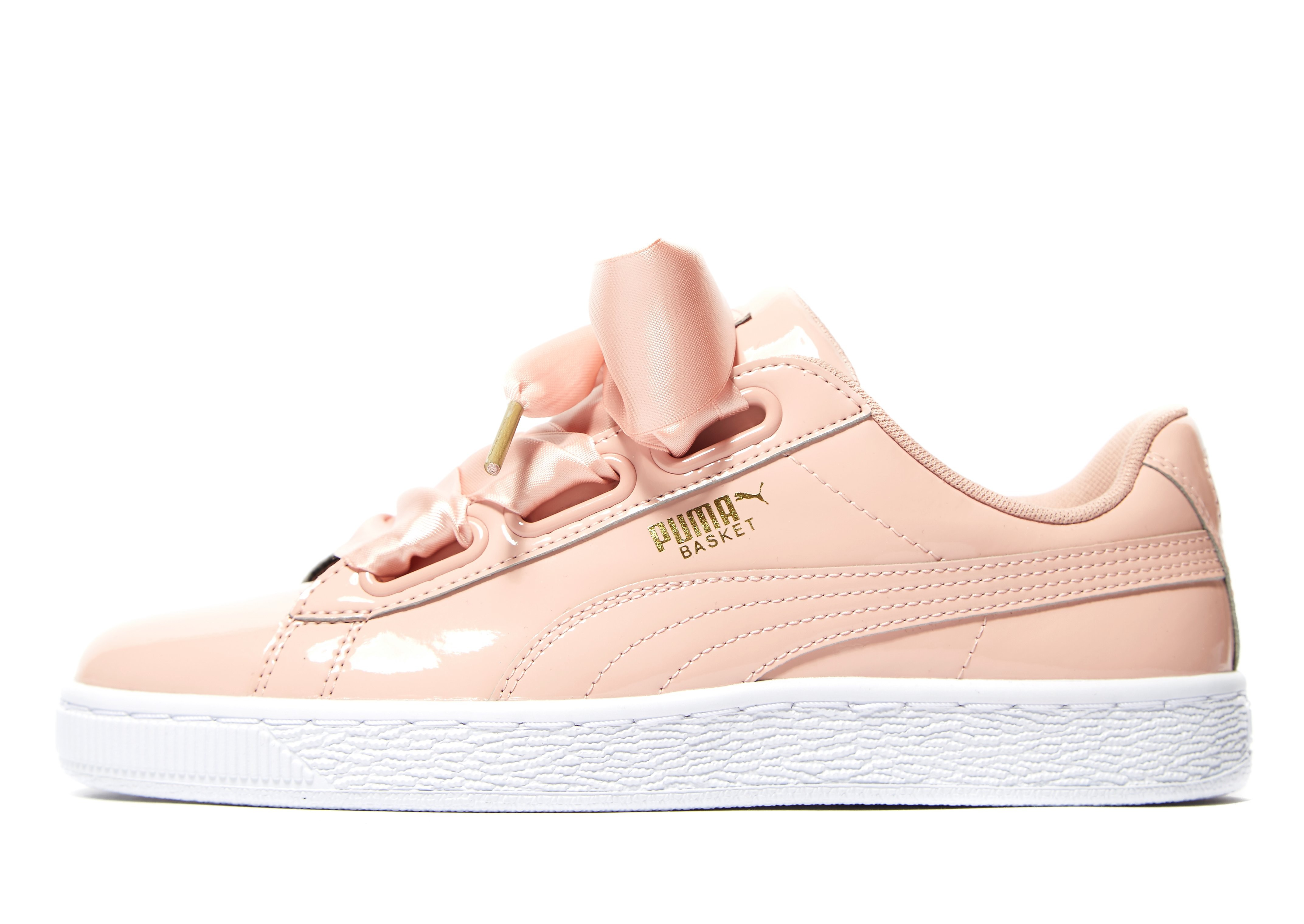 PUMA Basket Heart Patent Women's
